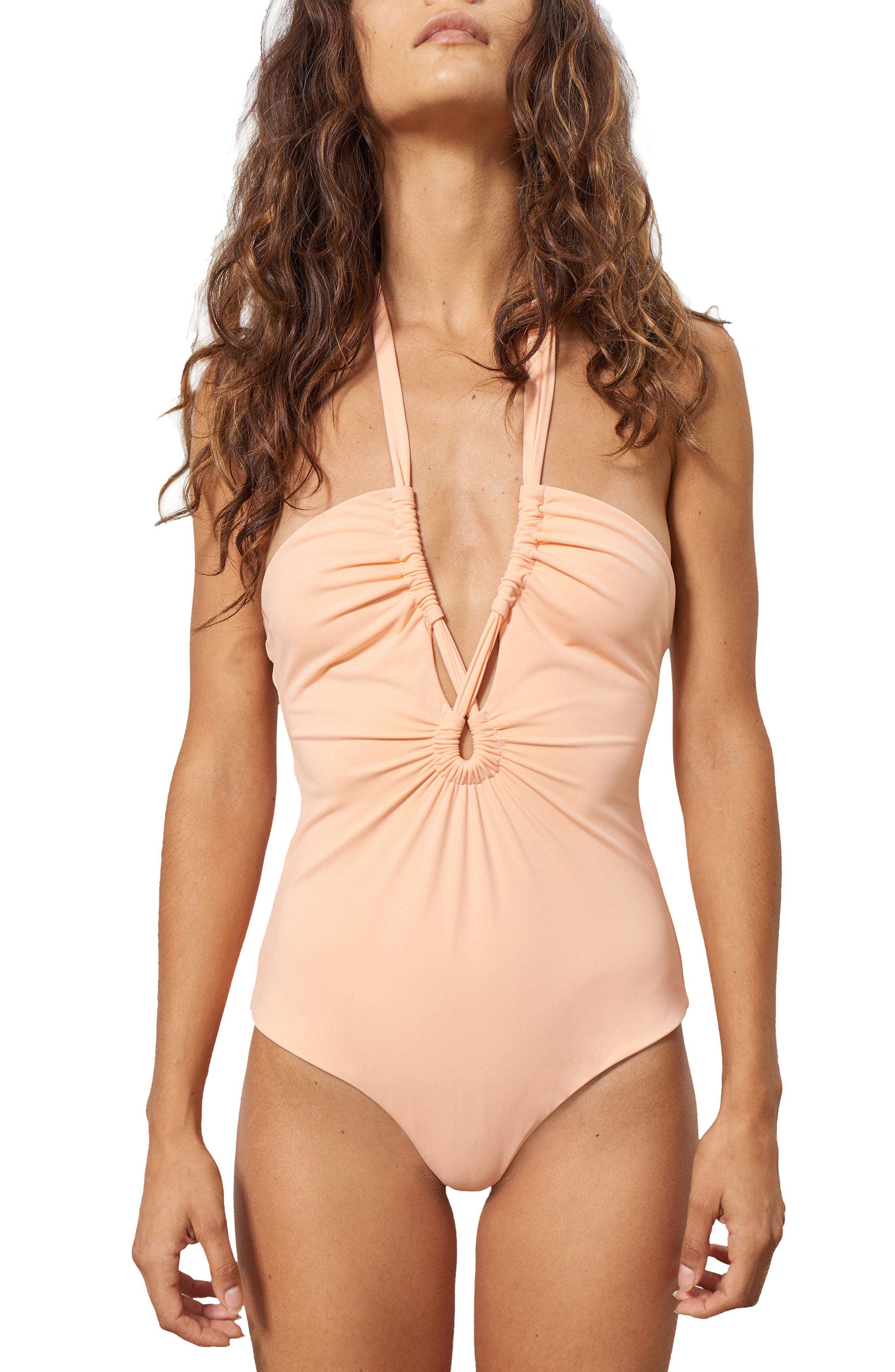 Aya One-Piece Swimsuit,                             Main thumbnail 1, color,                             Appeal