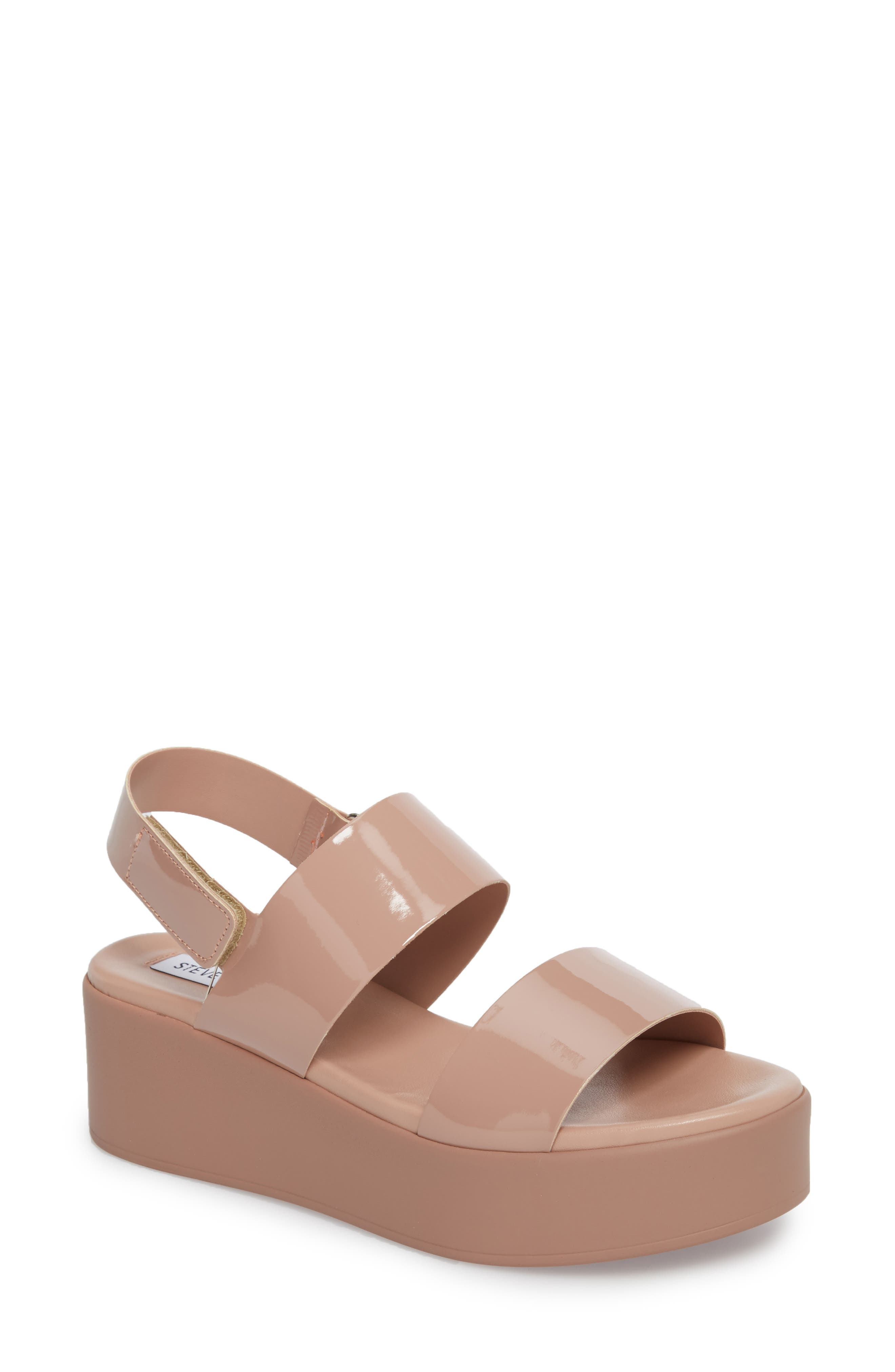 Alternate Image 1 Selected - Steve Madden Rachel Platform Wedge Sandal (Women)