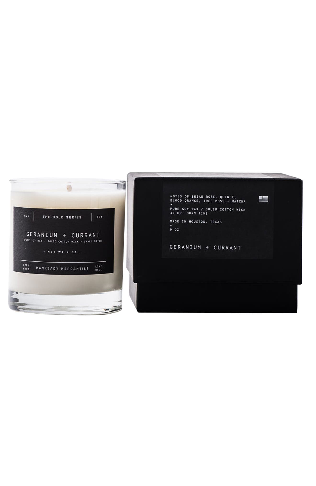 Bold Series Soy Candle,                         Main,                         color, Geranium And Currant