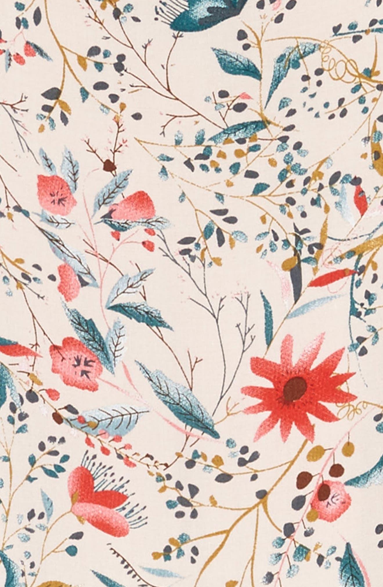 Alternate Image 3  - For All Seasons Print Flounce Sundress (Big Girls)