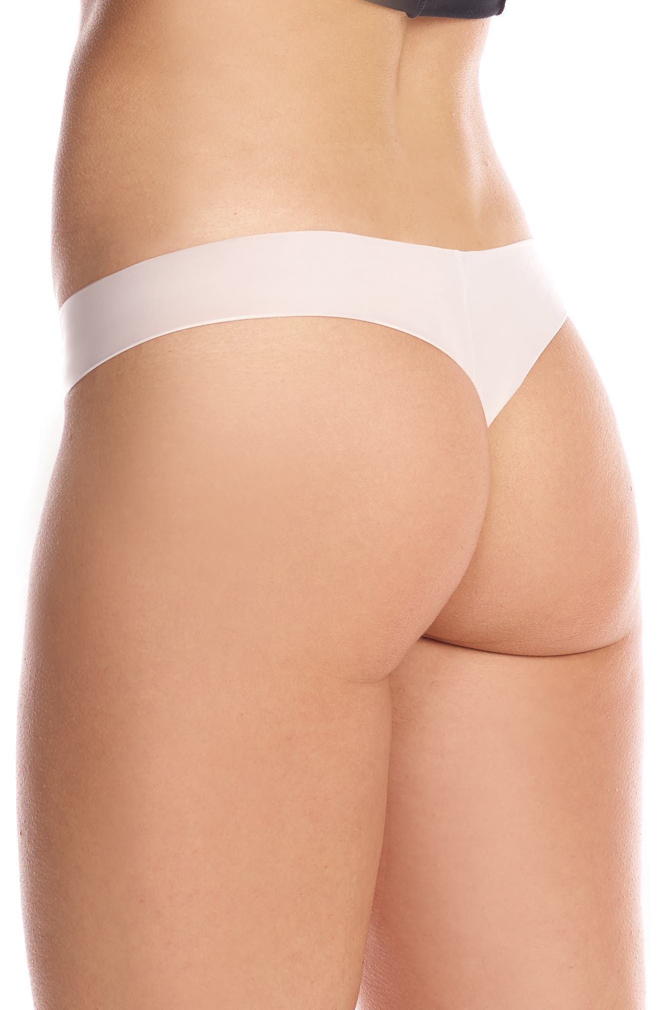 Perfect Stretch Thong,                             Alternate thumbnail 2, color,                             Ivory