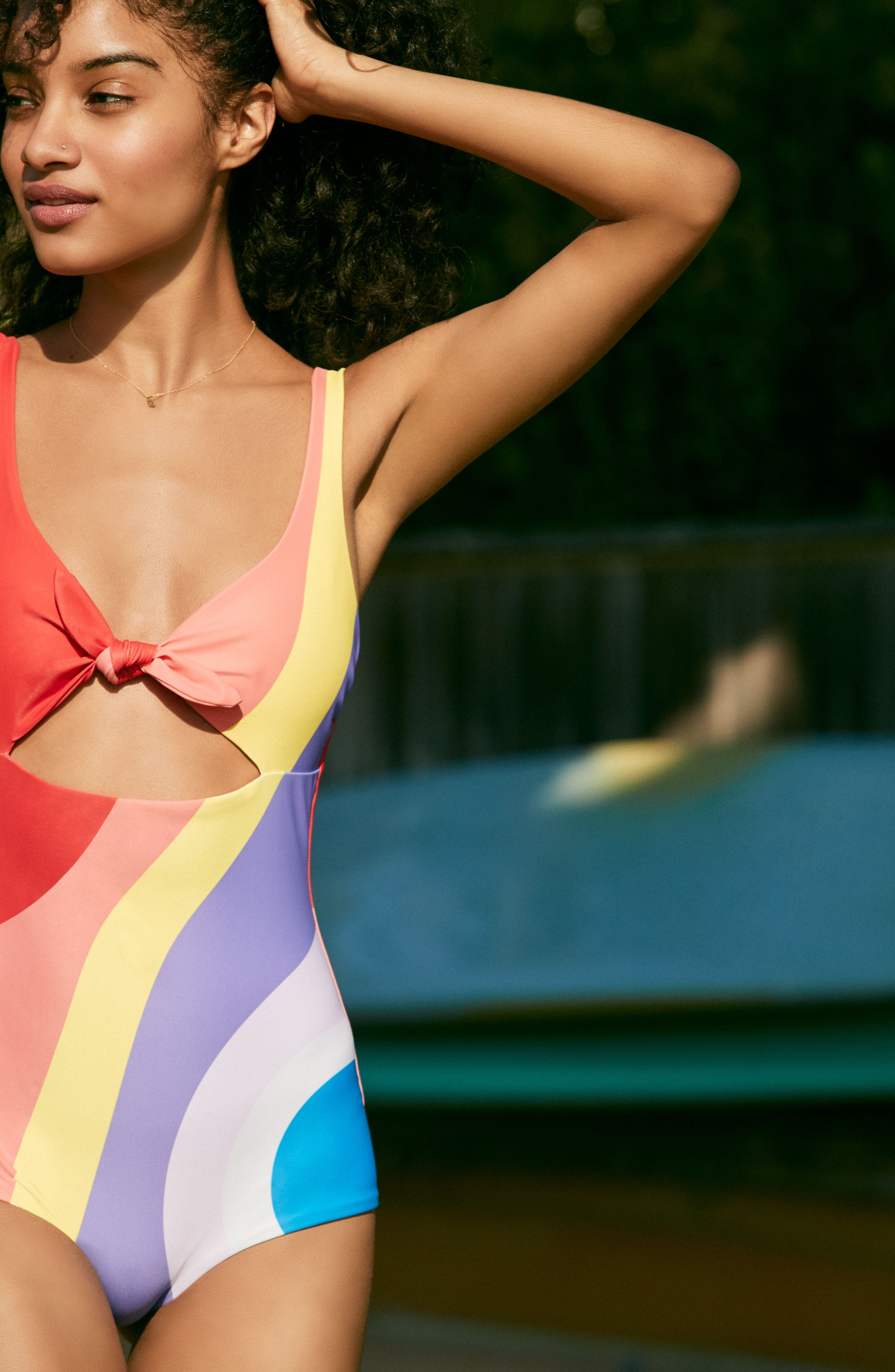 Adeline One-Piece Swimsuit,                             Alternate thumbnail 2, color,