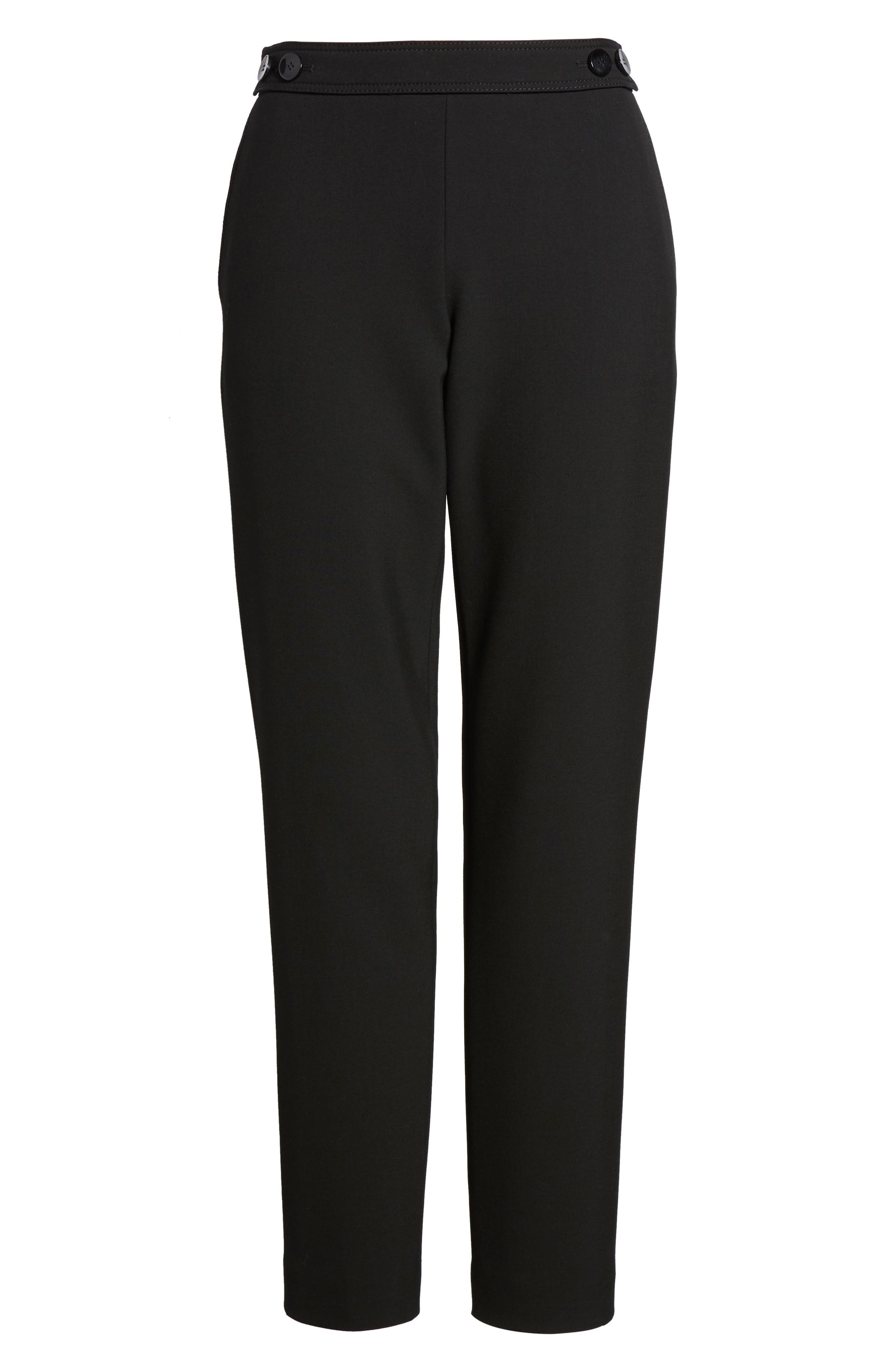 Alternate Image 6  - BOSS Tiokenia Slim Leg Trousers (Regular & Petite)