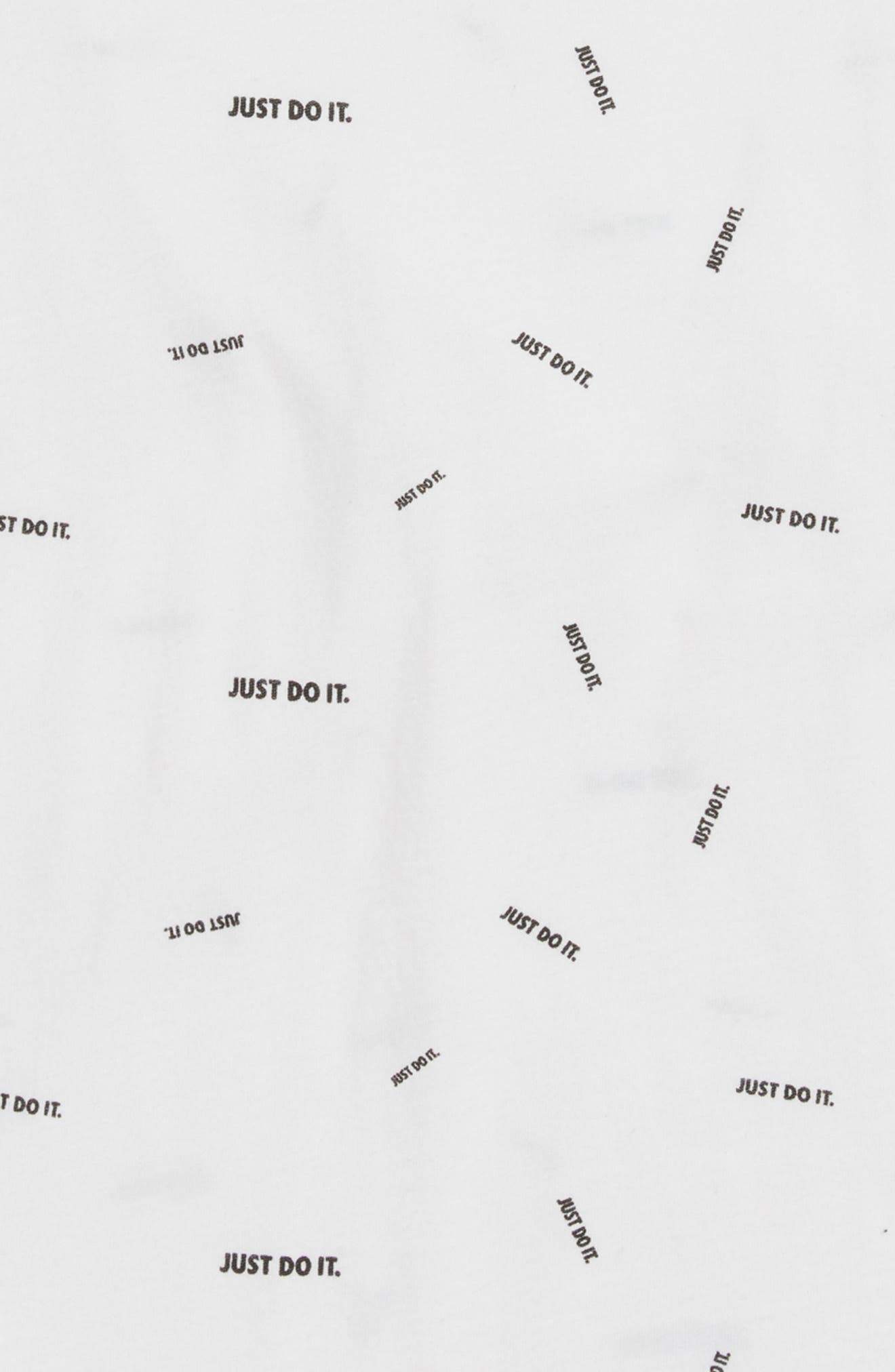 Alternate Image 2  - Nike Just Do It Confetti Graphic T-Shirt (Little Boys & Big Boys)