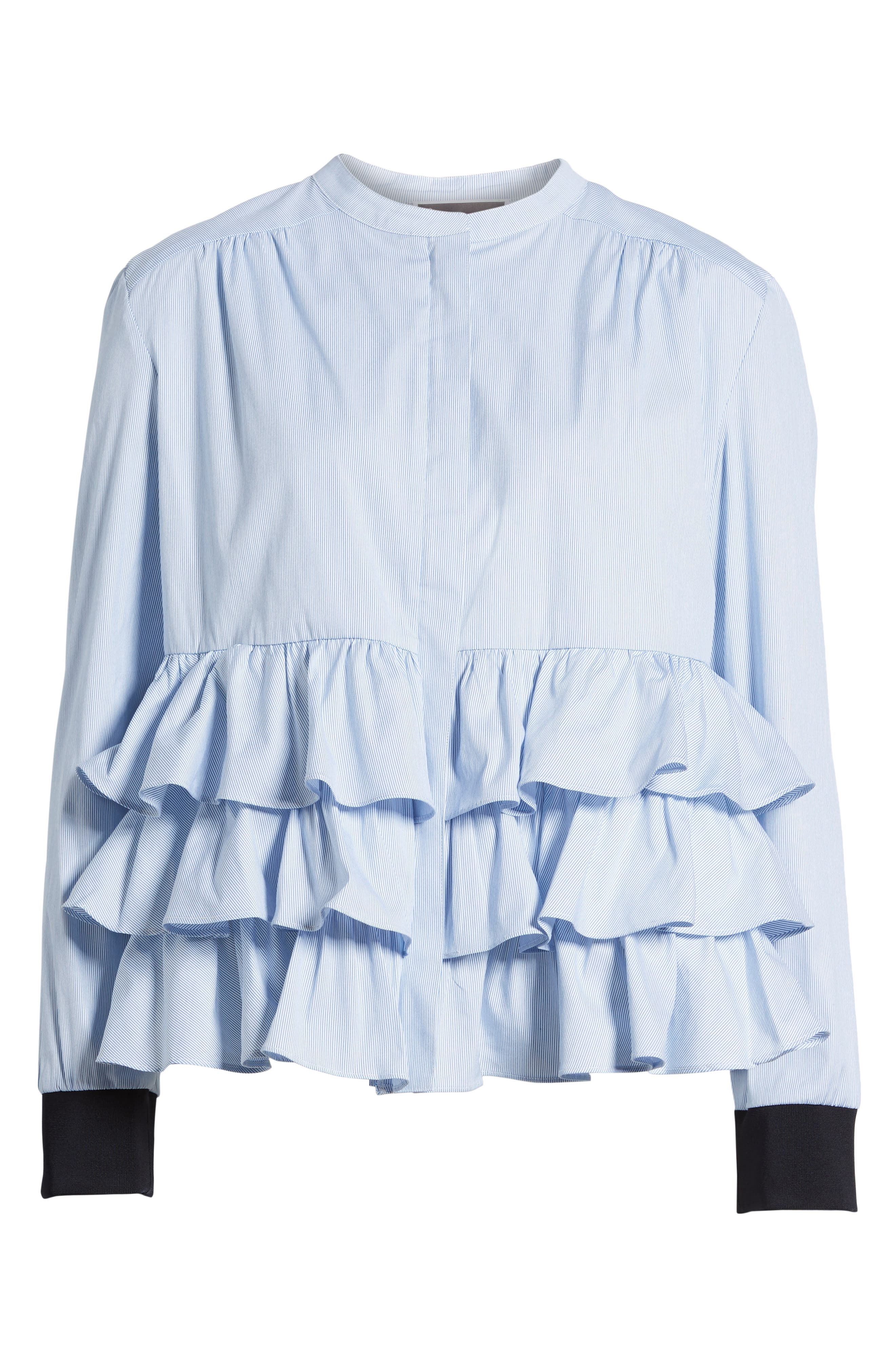 Alternate Image 6  - Chelsea28 Ruffle Jacket