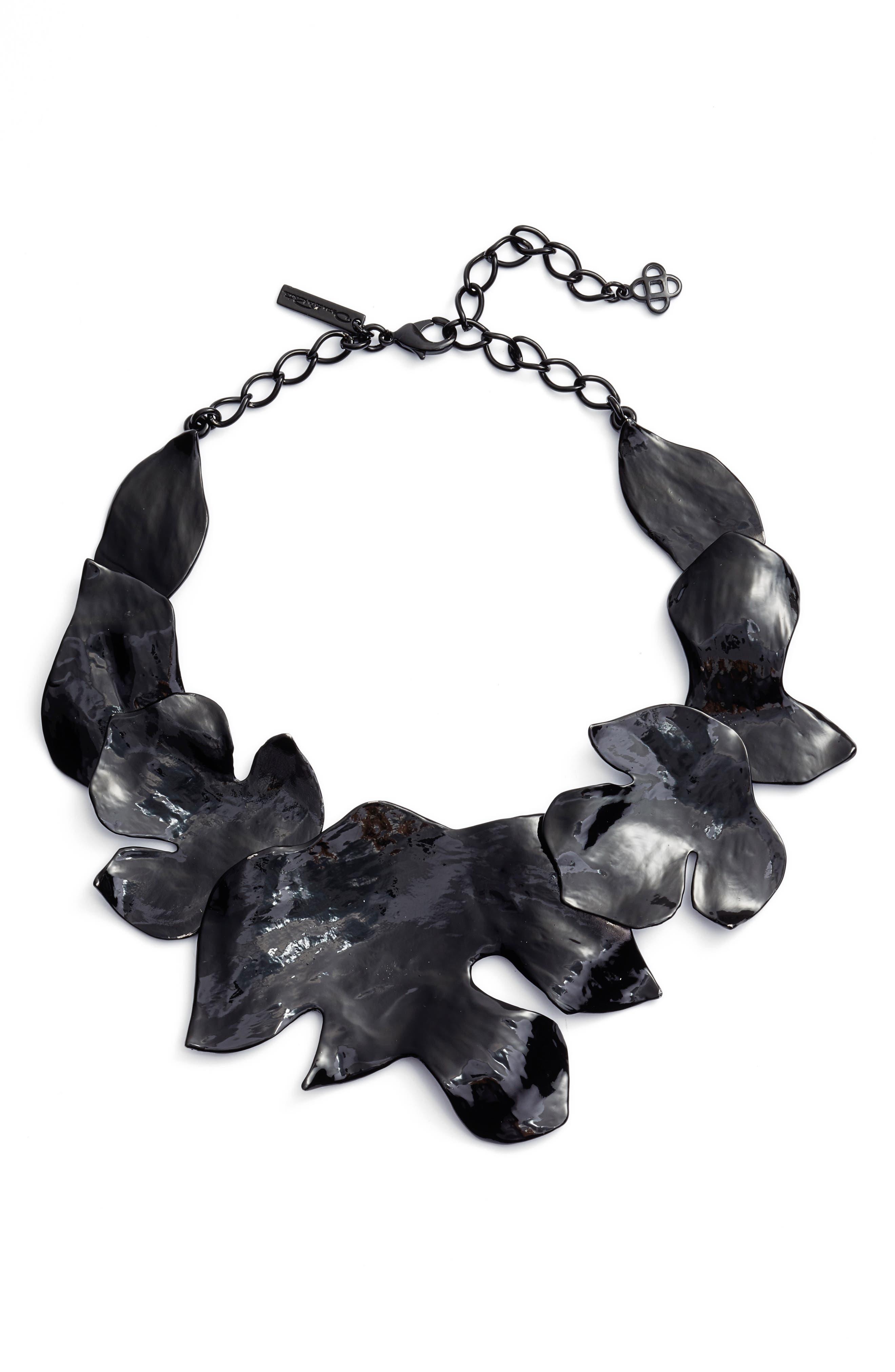 Main Image - Oscar de la Renta Foliage Collar Necklace