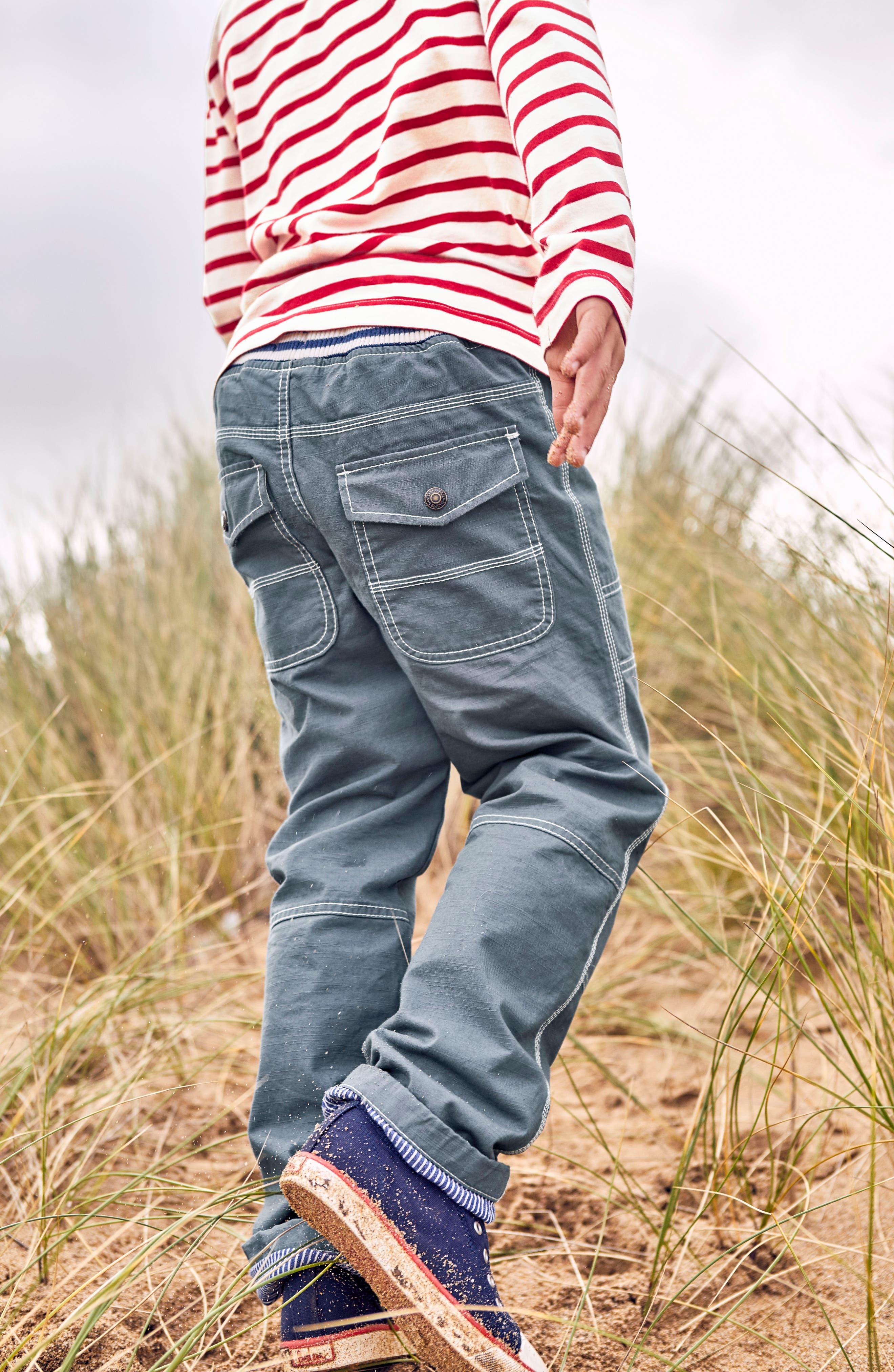 Lined Mariner Pants,                             Alternate thumbnail 4, color,                             Cobble Grey