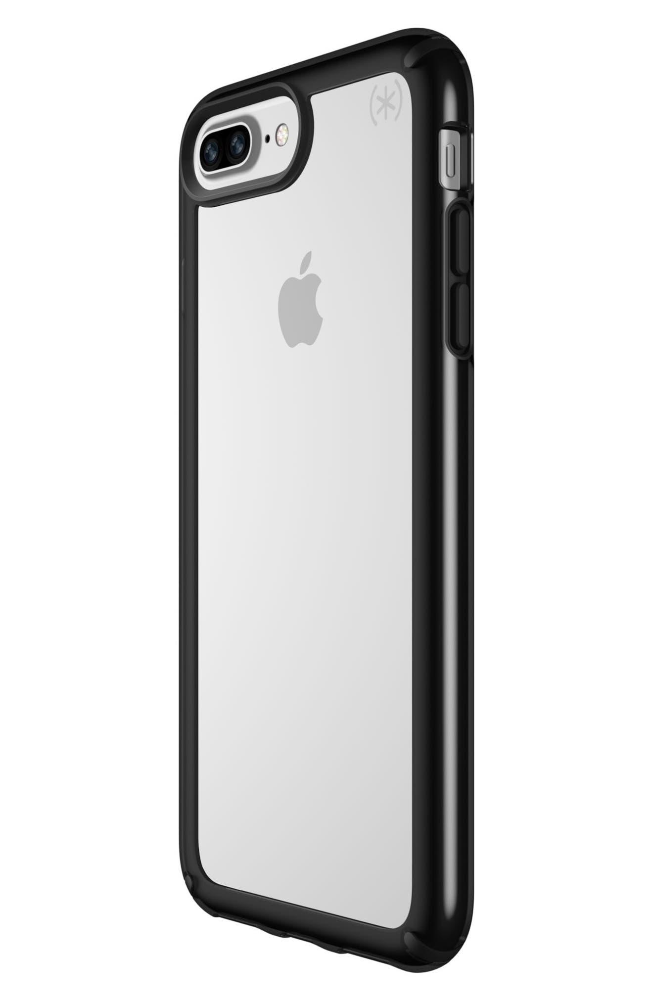 iPhone 6/6s/7/8 Plus Case,                             Alternate thumbnail 2, color,                             Clear/ Black