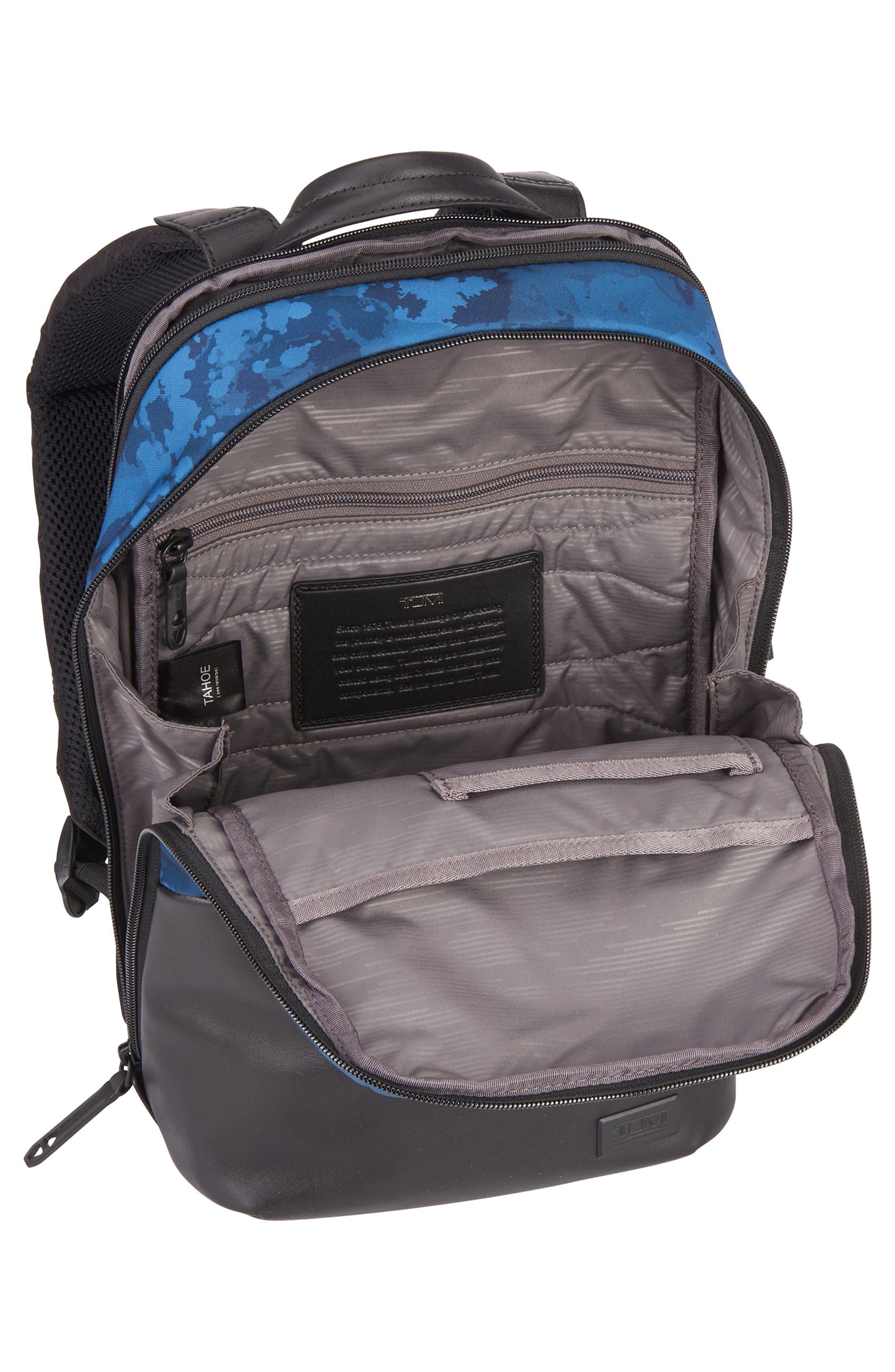 Tahoe - Elwood Backpack,                             Alternate thumbnail 3, color,                             Deep Ocean Print