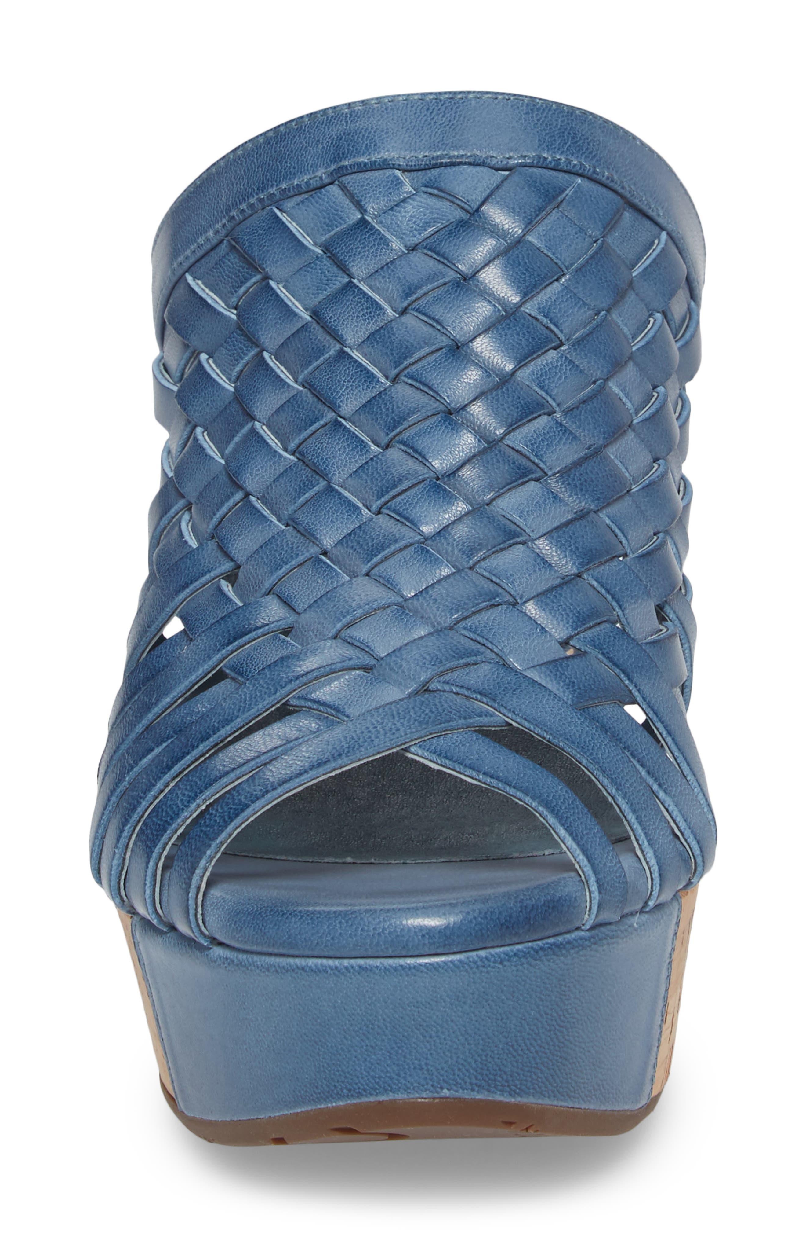 Alternate Image 4  - Chocolat Blu Walda Platform Wedge Sandal (Women)