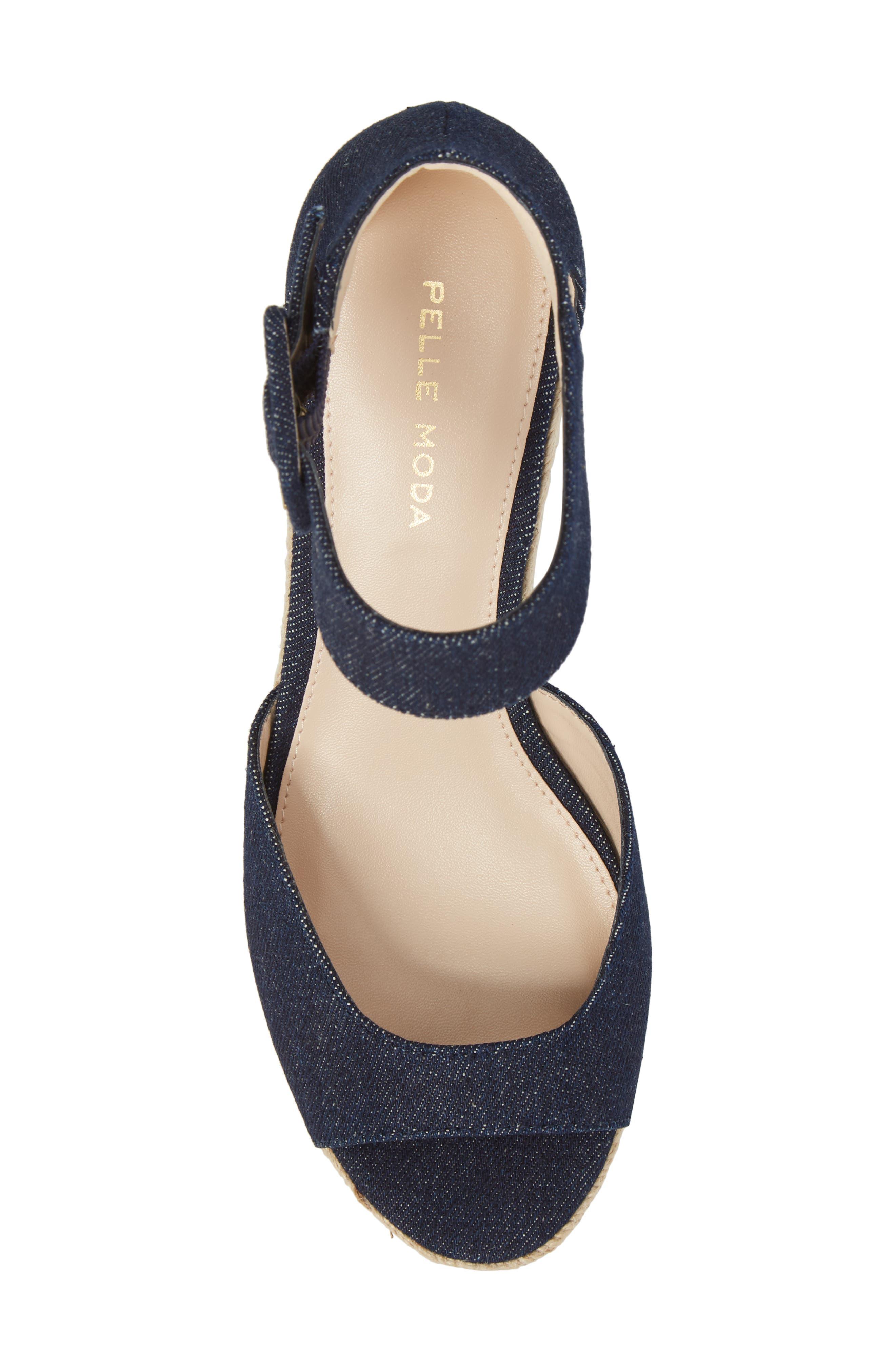 Alternate Image 5  - Pelle Moda Kauai Platform Wedge Sandal (Women)