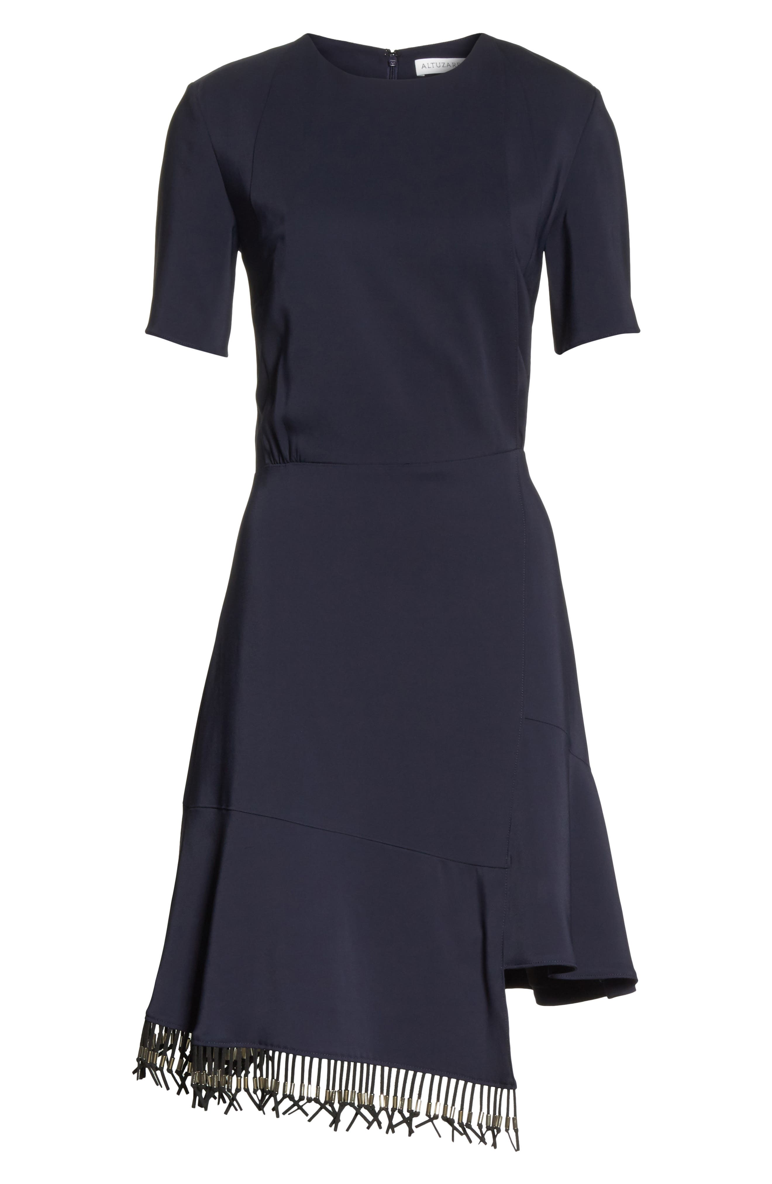 Alternate Image 6  - Altuzarra Asymmetrical Fringe Hem Dress