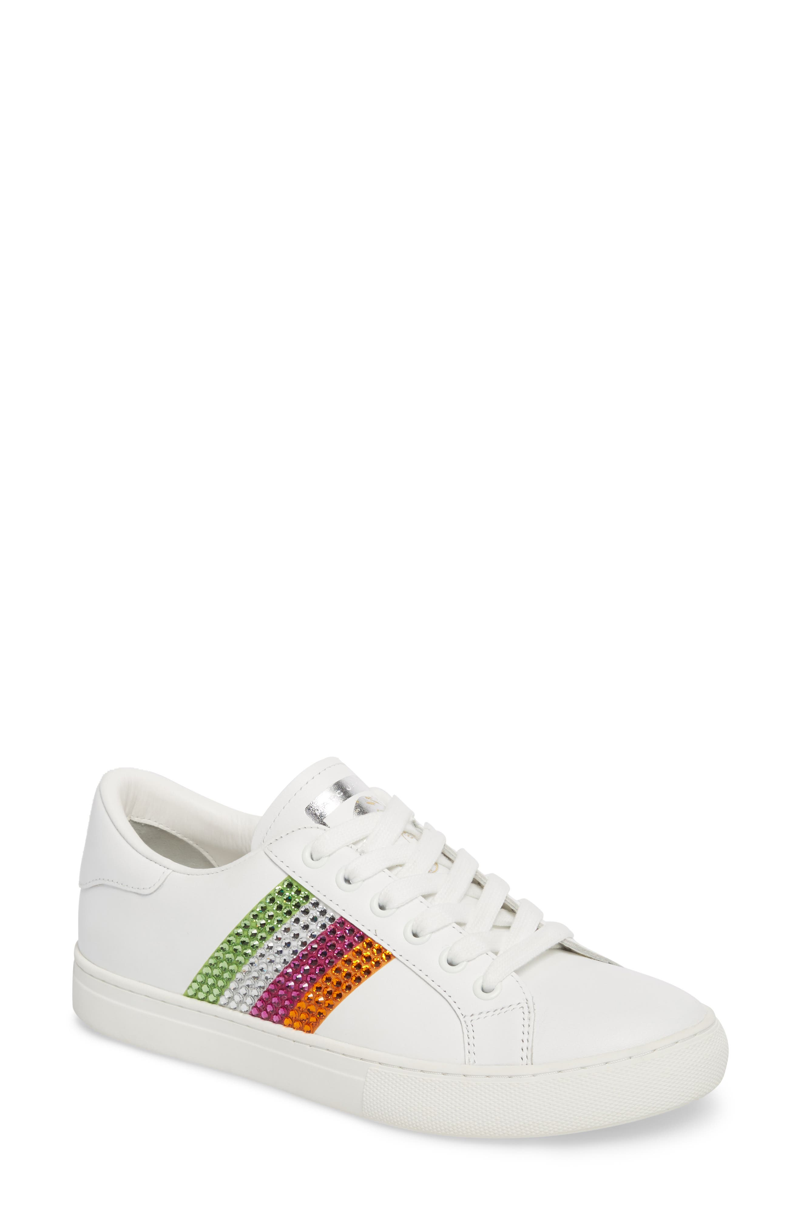 Main Image - MARC JACOBS Empire Crystal Embellished Sneaker (Women)