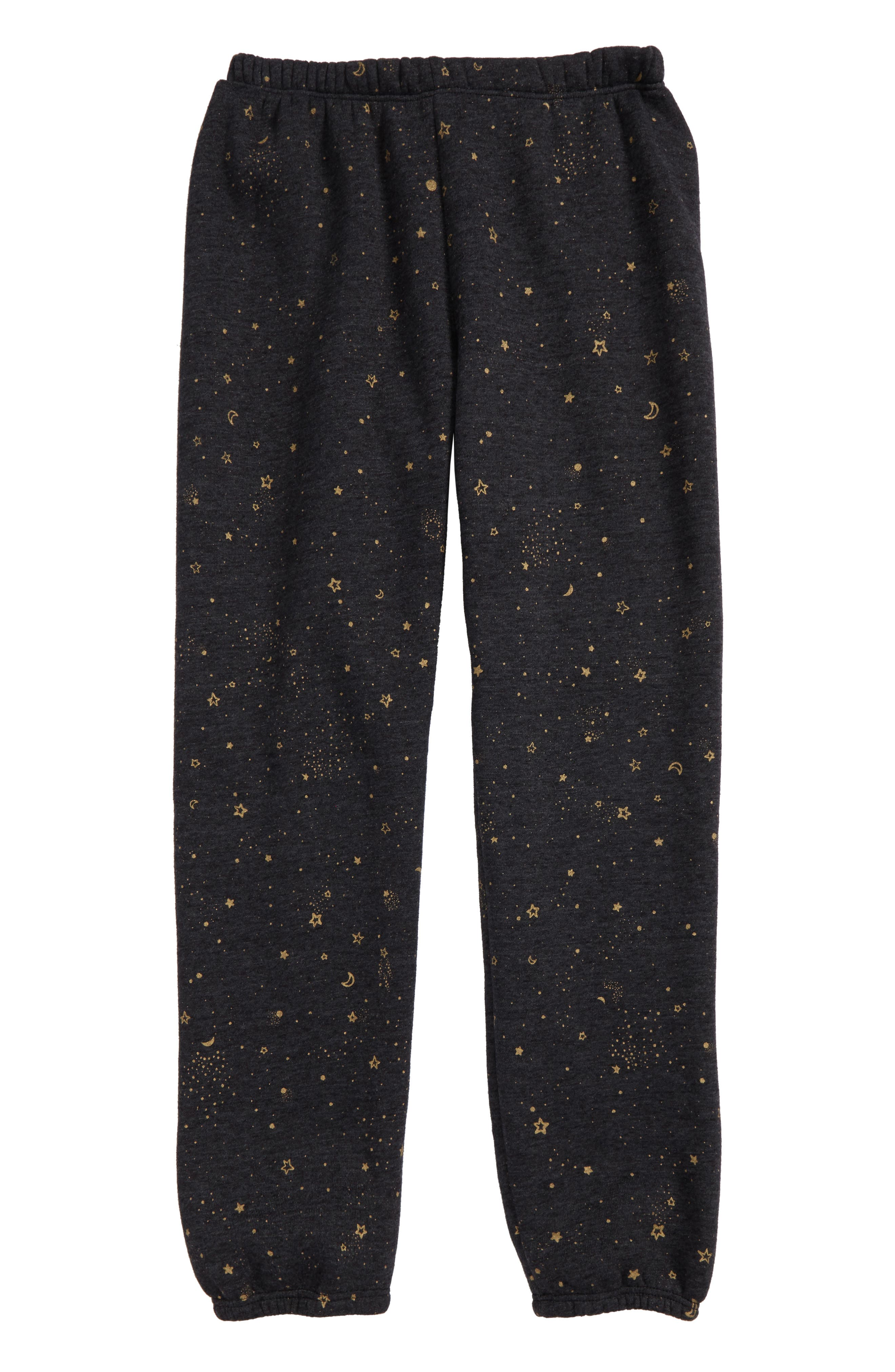 Stellar Print Sweatpants,                         Main,                         color, Vintage Black