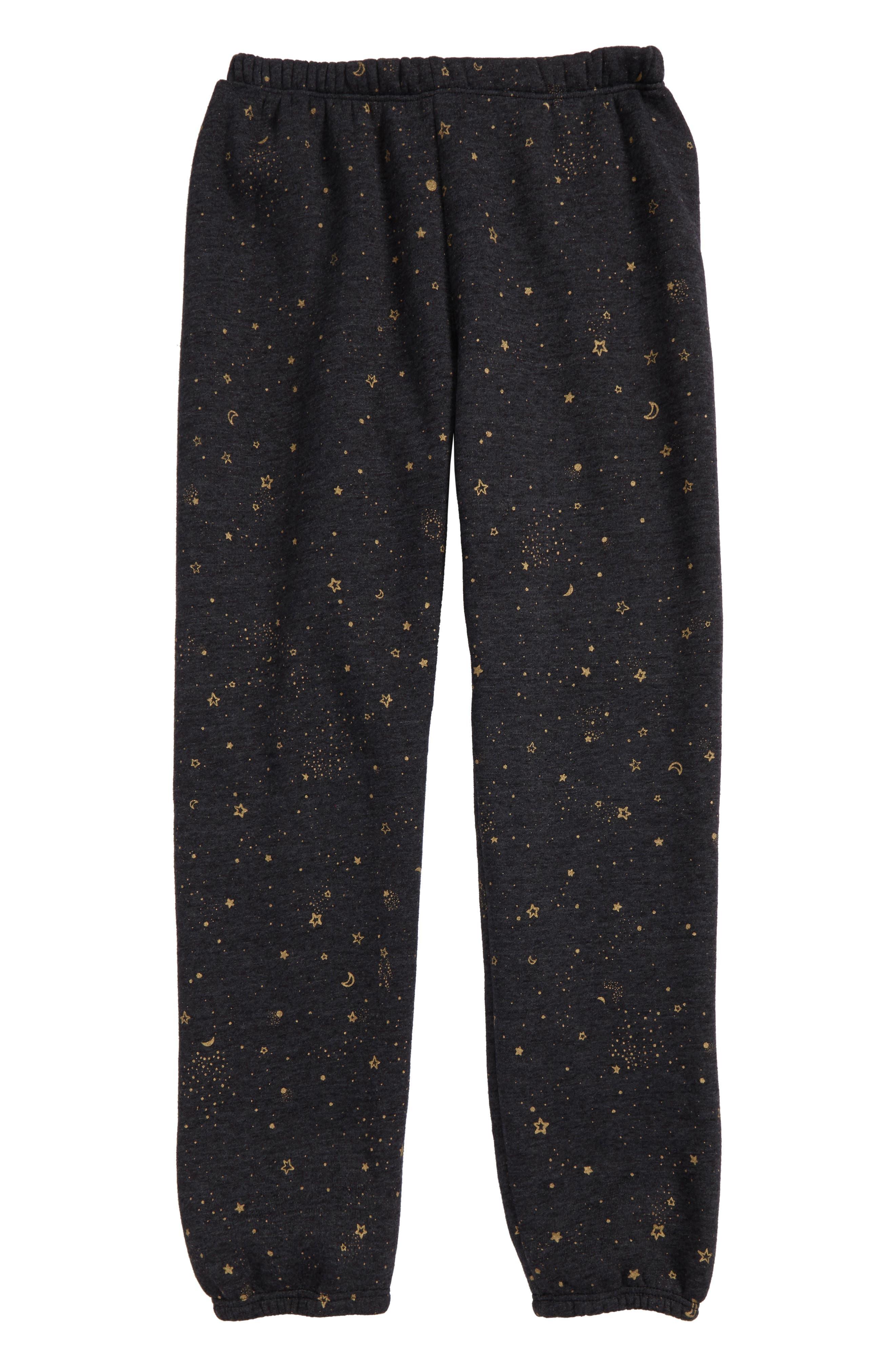 Spiritual Gangster Stellar Print Sweatpants (Big Girls)