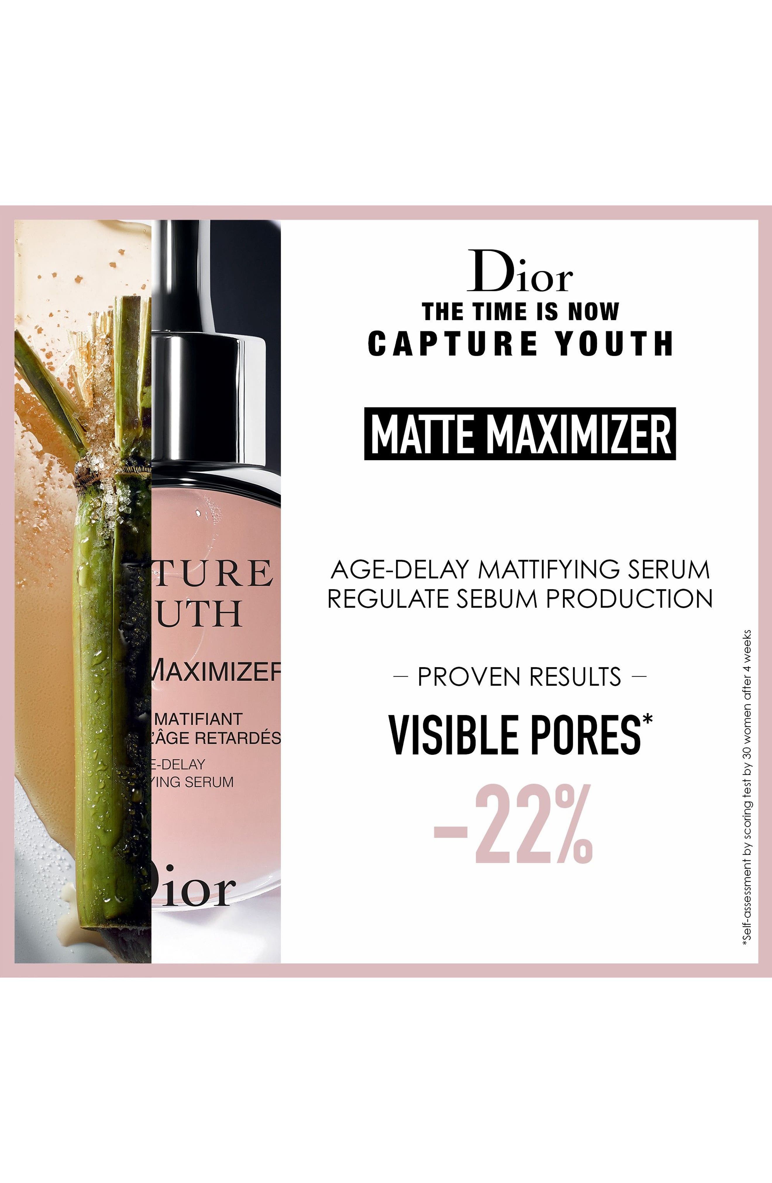 Capture Youth Matte Maximizer Age-Delay Mattifying Serum,                             Alternate thumbnail 4, color,                             No Color