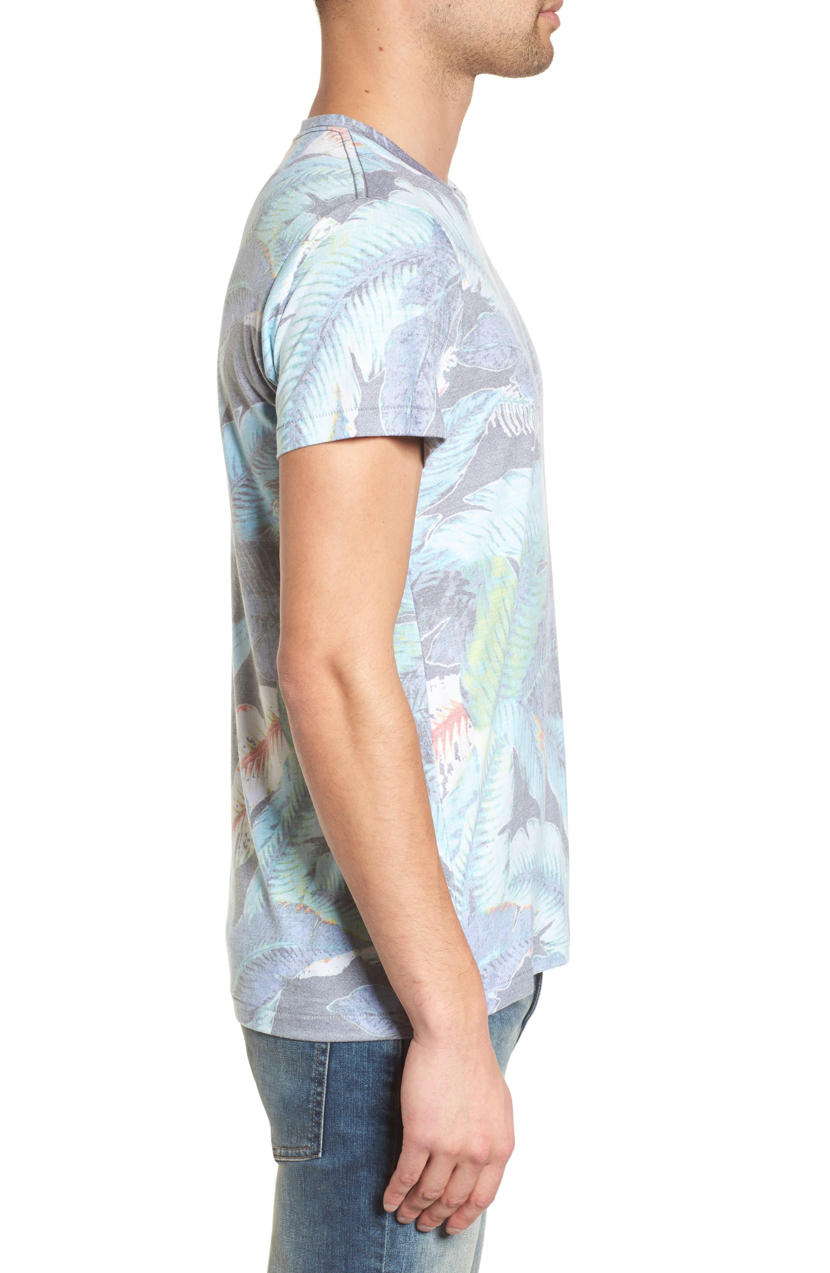 Lanai Leaf T-Shirt,                             Alternate thumbnail 3, color,                             Lanai Leaf
