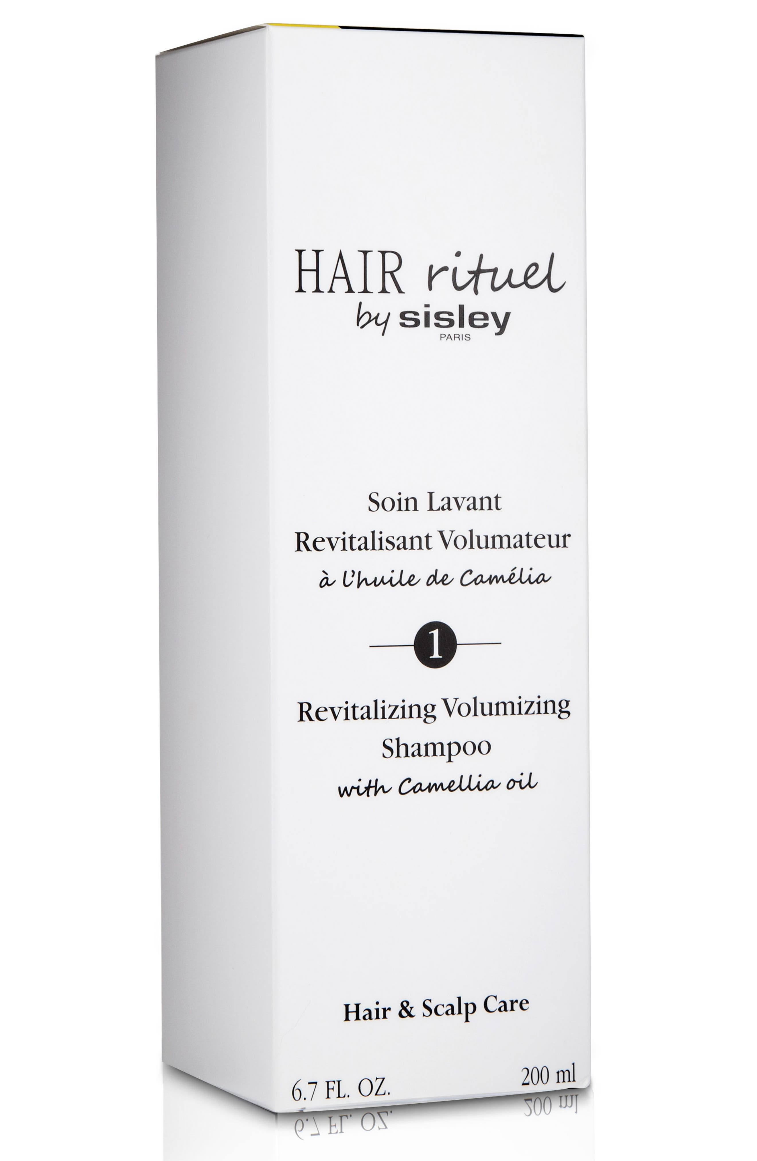 Alternate Image 2  - Sisley Paris Revitalizing Volumizing Shampoo with Camellia Oil