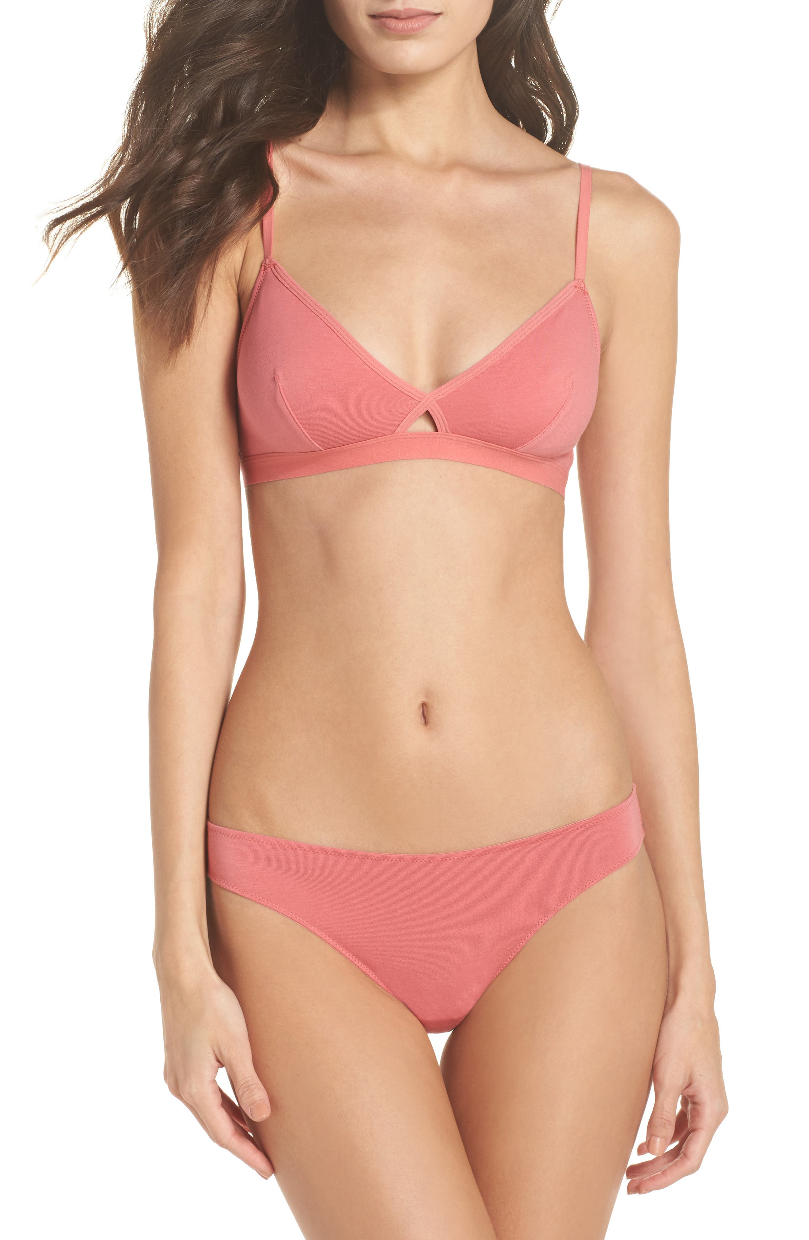 Alternate Image 5  - Madewell Jersey Bikini (3 for $33)