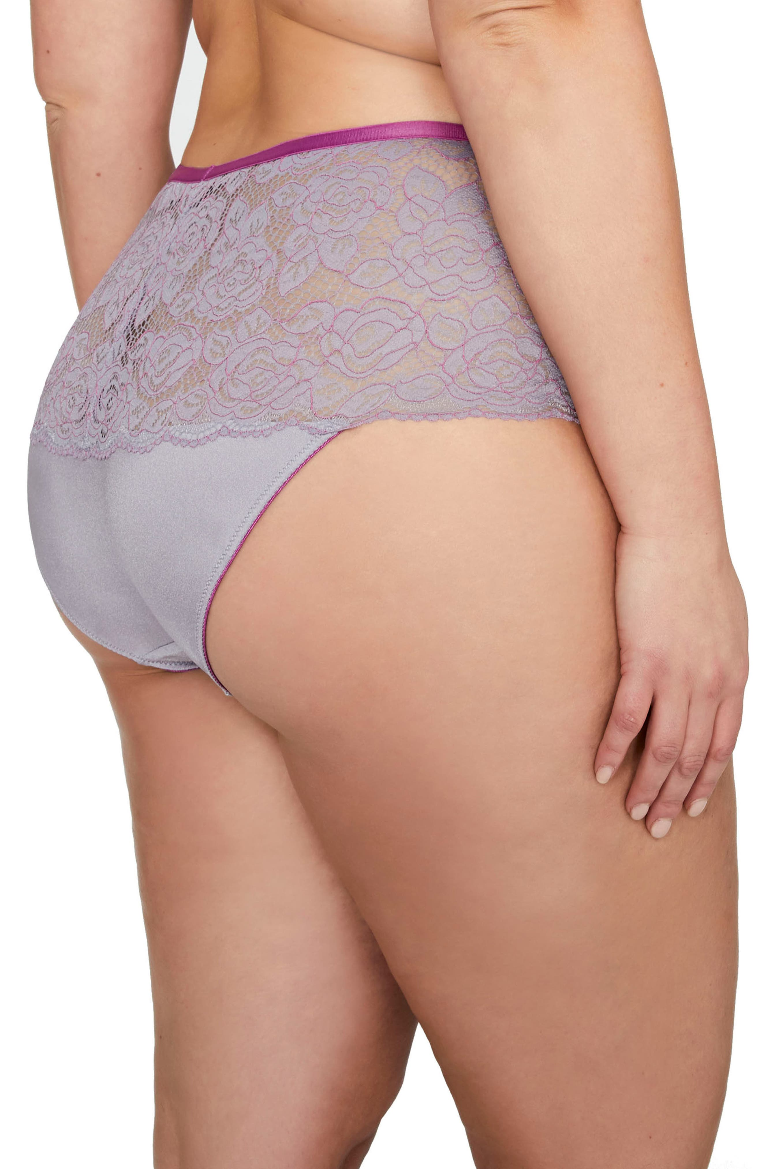 Undressed Panties,                             Alternate thumbnail 2, color,                             Lilac Gray