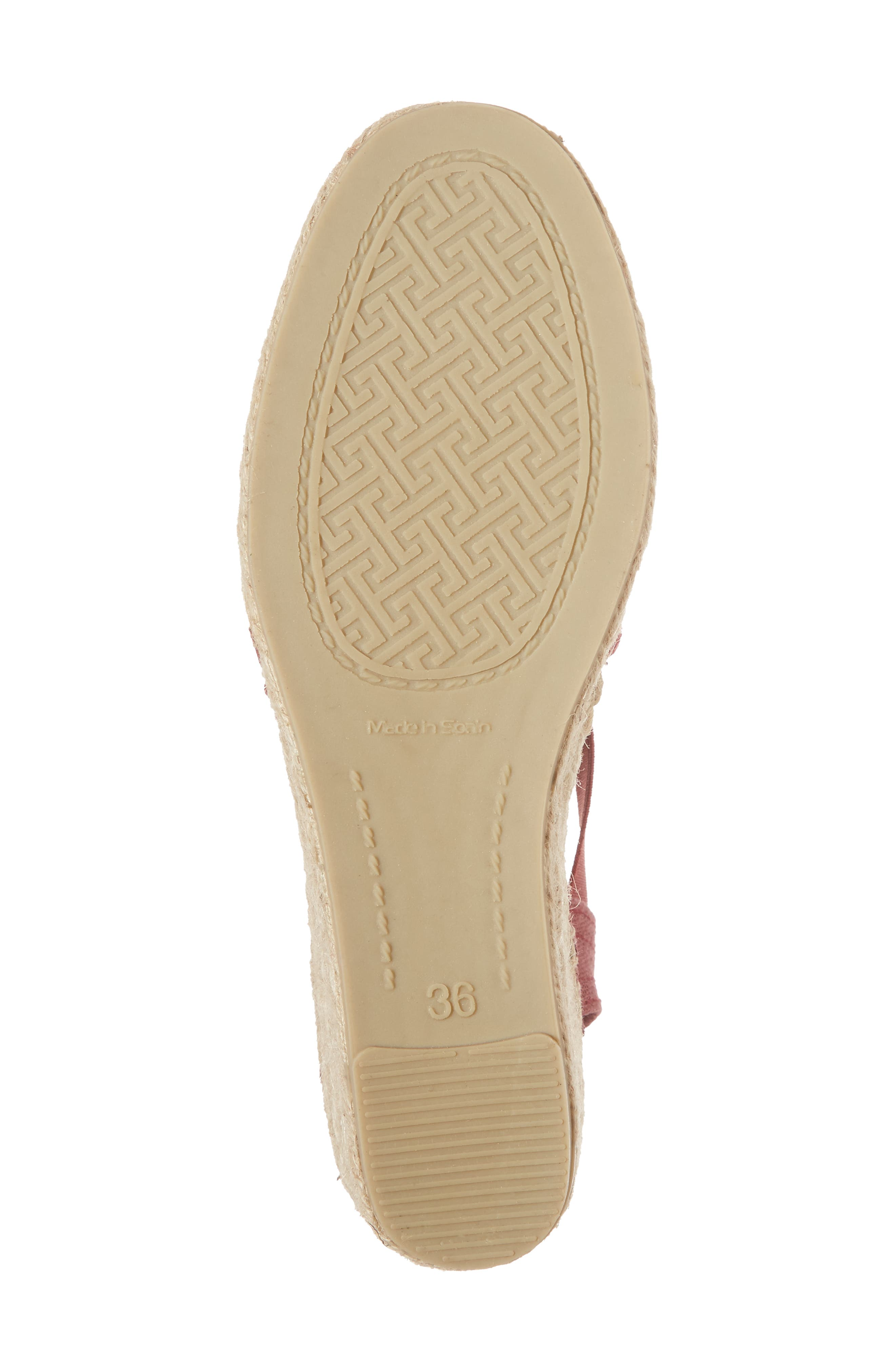'Ter' Slingback Espadrille Sandal,                             Alternate thumbnail 6, color,                             Bru Fabric