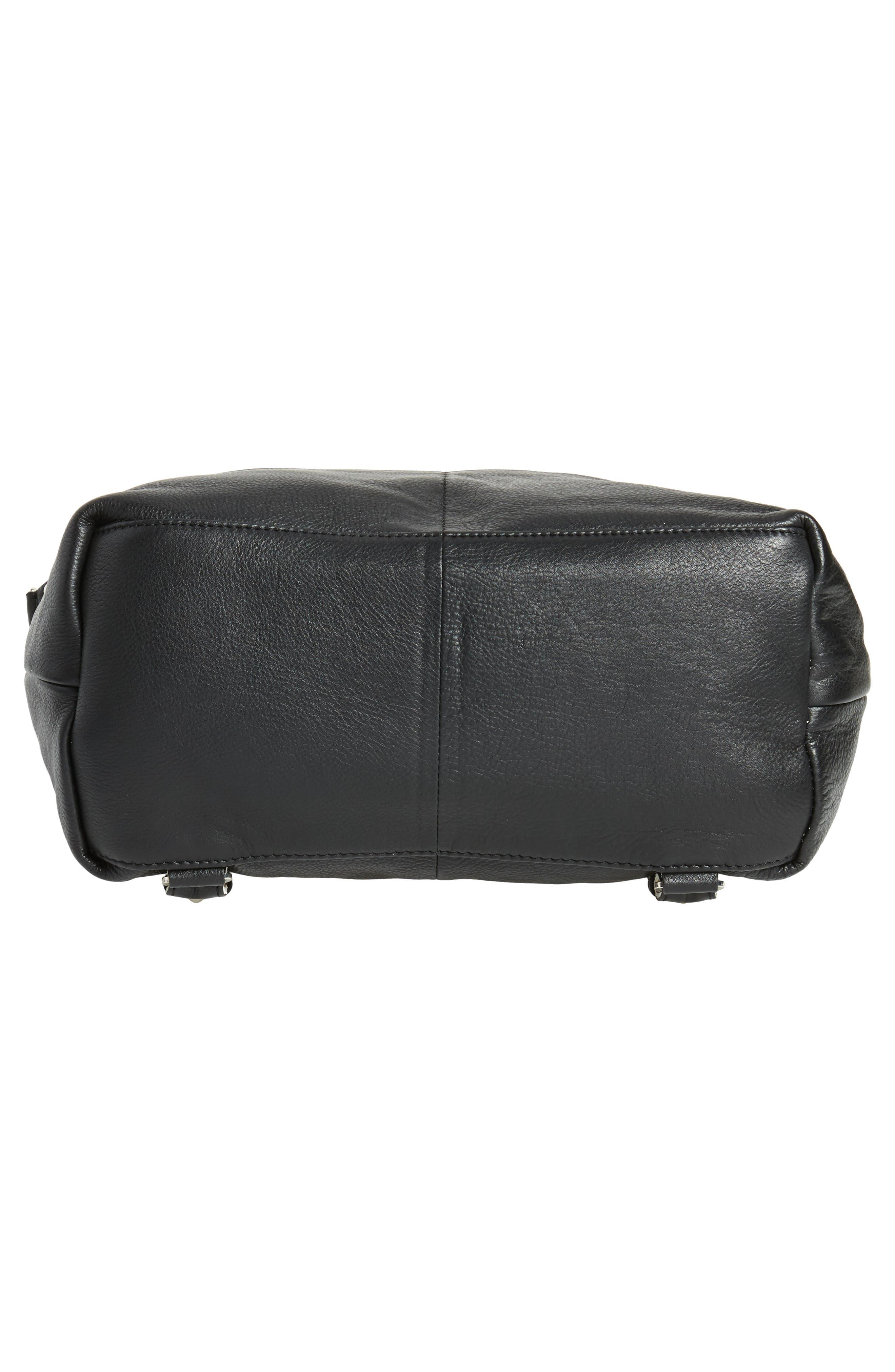 Alternate Image 6  - Topshop Premium Leather Convertible Backpack