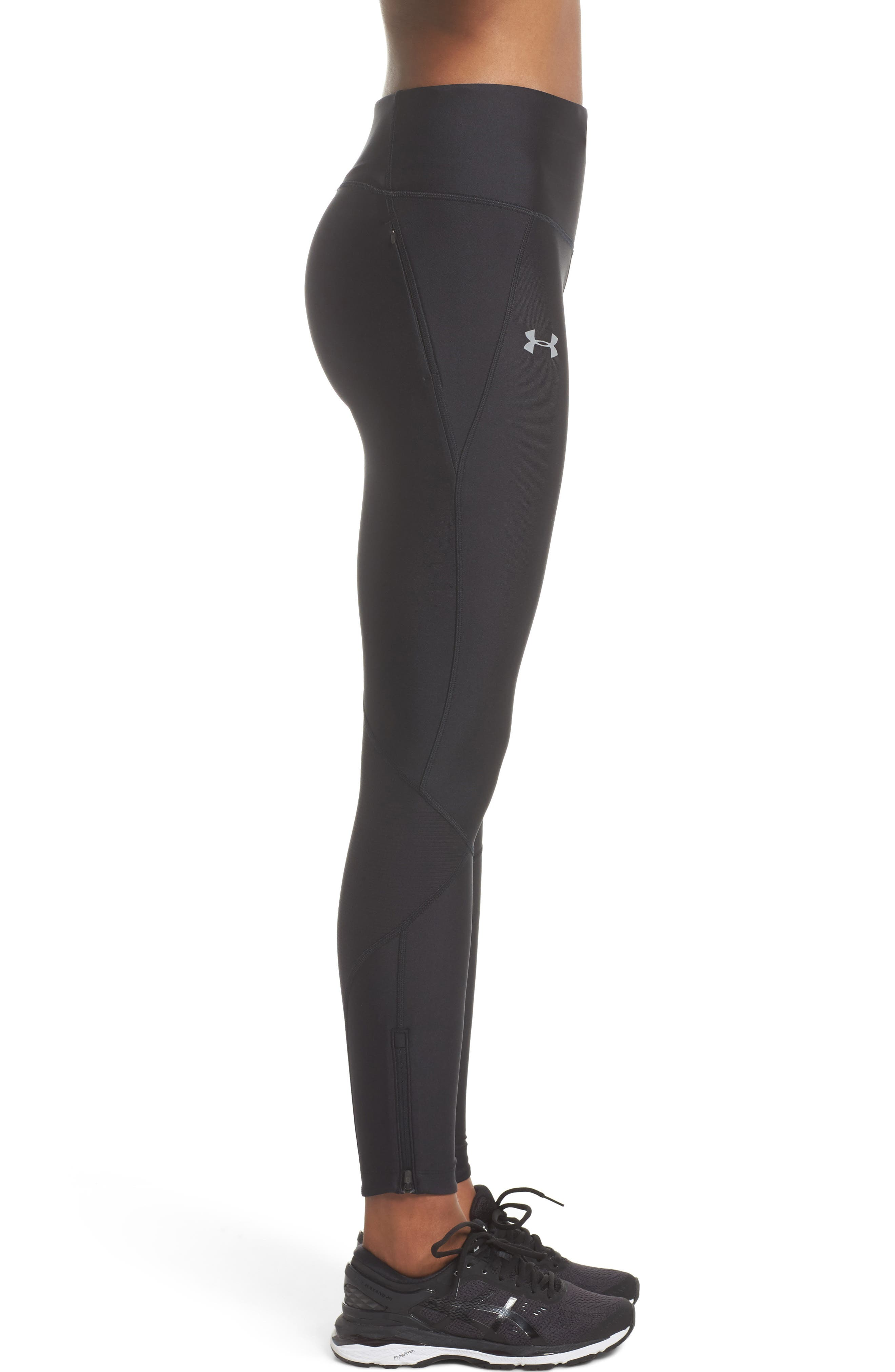 Fly Fast Tights,                             Alternate thumbnail 3, color,                             Black