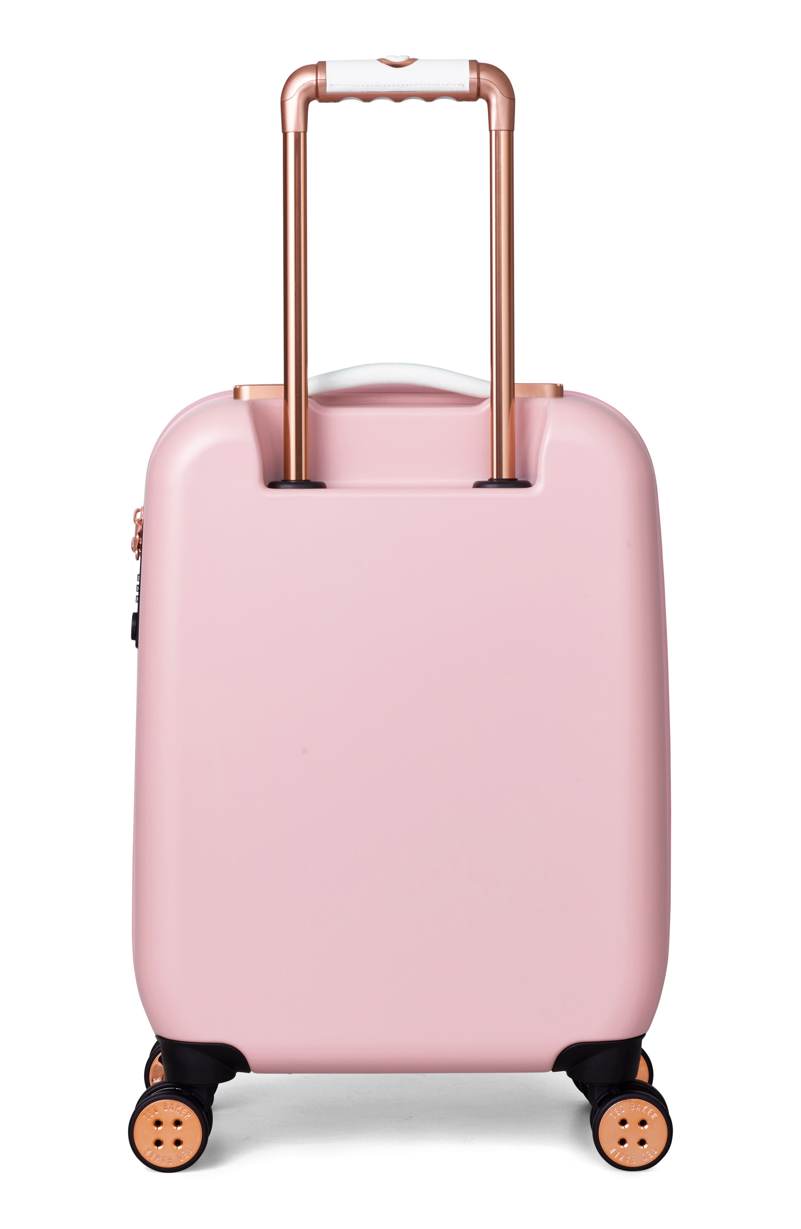 Alternate Image 3  - Ted Baker London Small Beau 22-Inch Bow Embossed Four-Wheel Trolley Suitcase