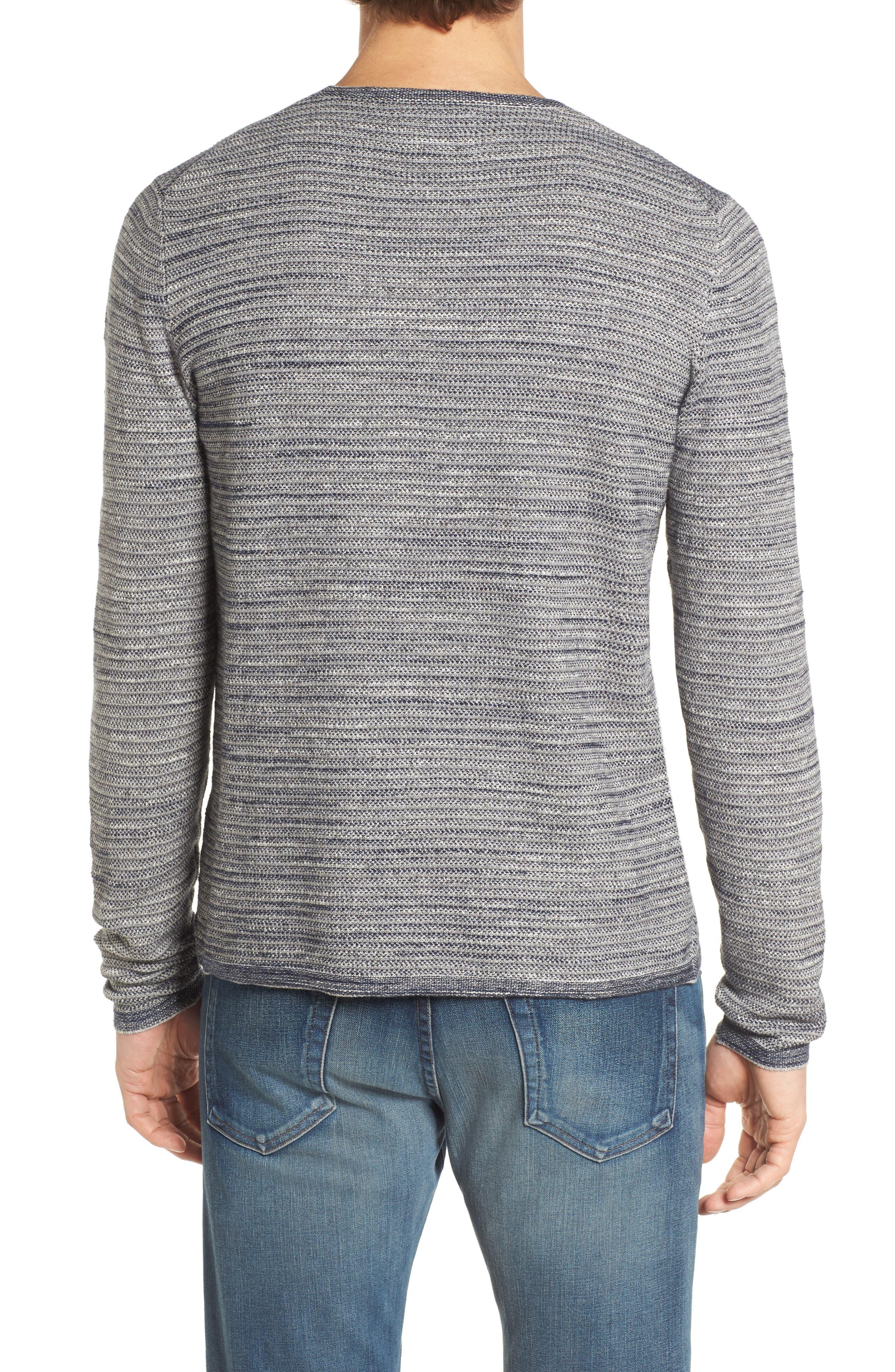 Alternate Image 2  - Grayers Bird's Eye Cotton Jacquard Sweater