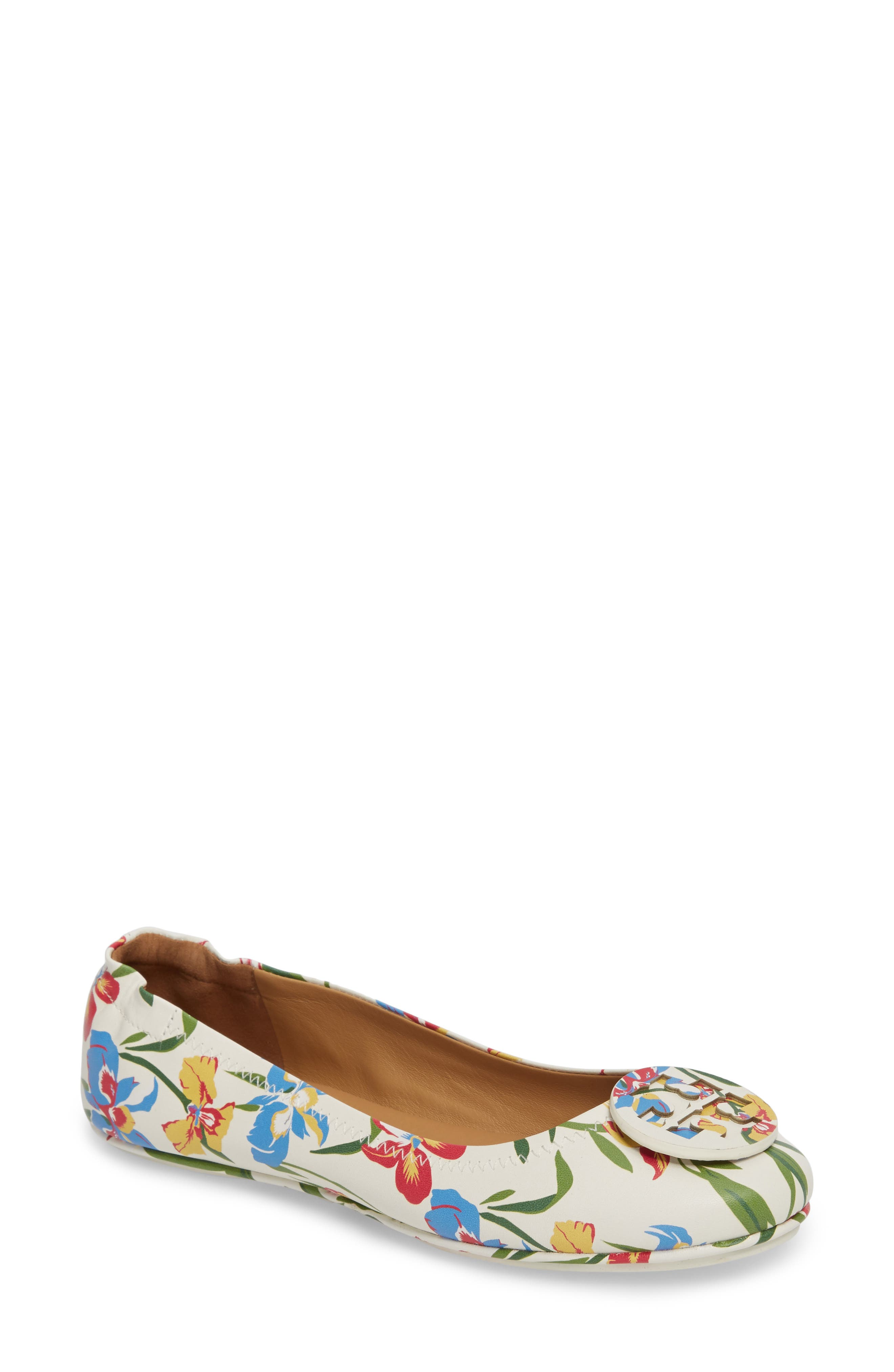 Main Image - Tory Burch 'Minnie' Travel Ballet Flat ...