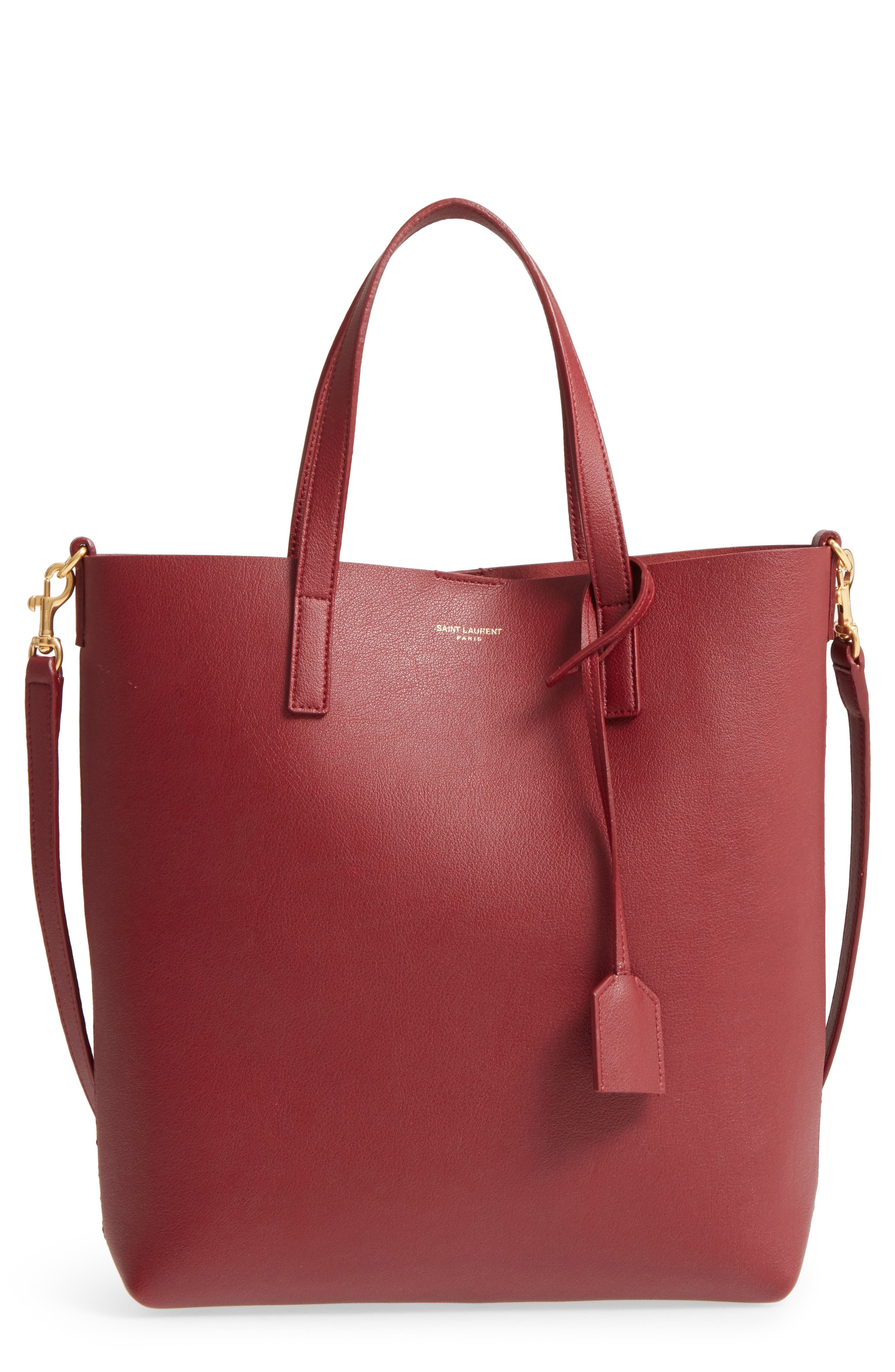 Alternate Image 1 Selected - Saint Laurent Toy Shopping Leather Tote