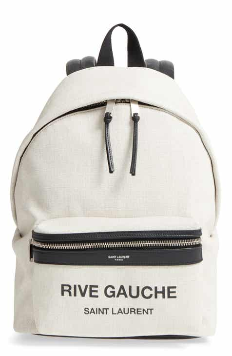 Saint Laurent City Mini Rive Gauche Backpack.  1,450.00. Backpacks for Women b447dcc237