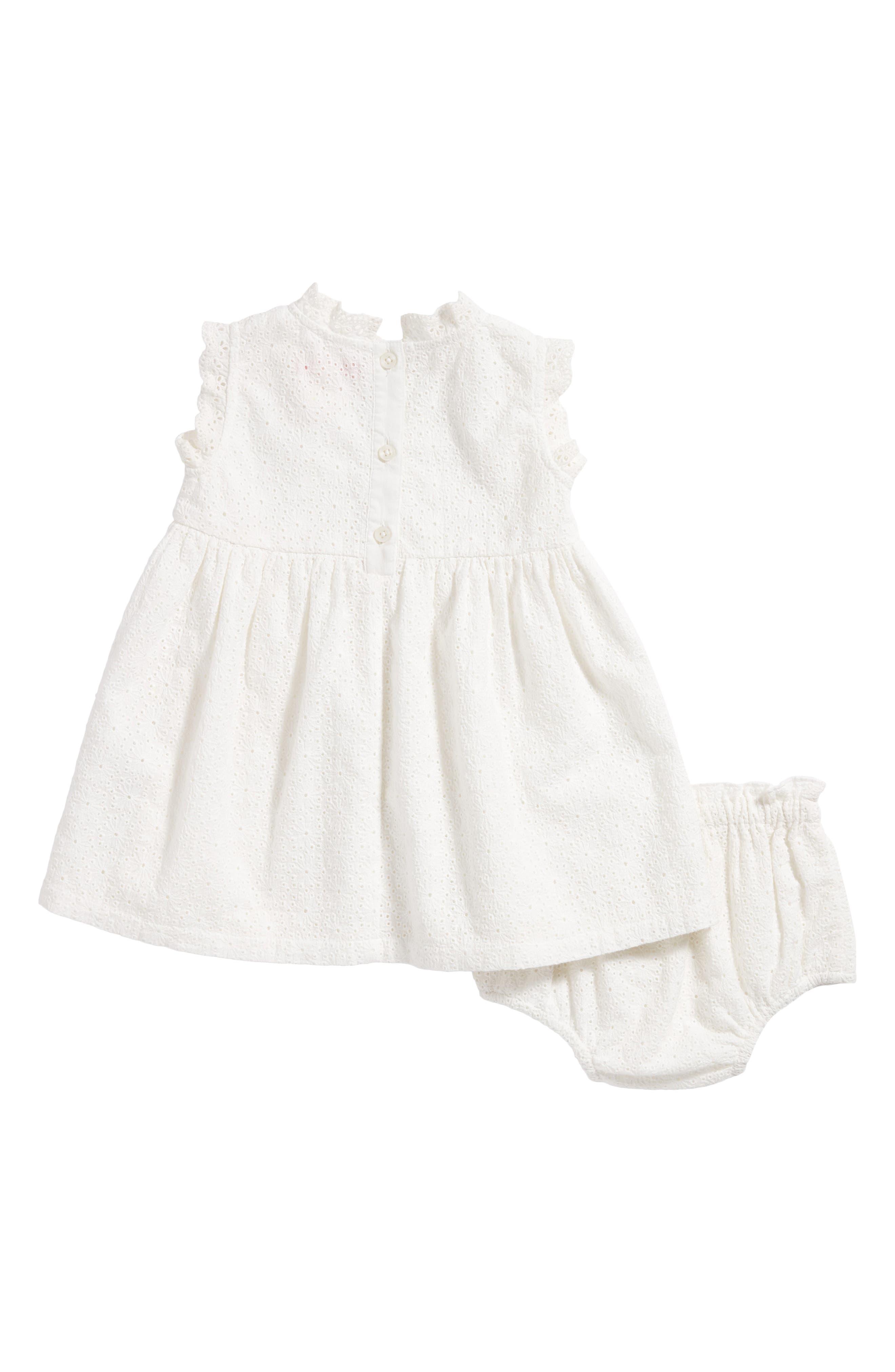 Lace Dress,                             Alternate thumbnail 2, color,                             White