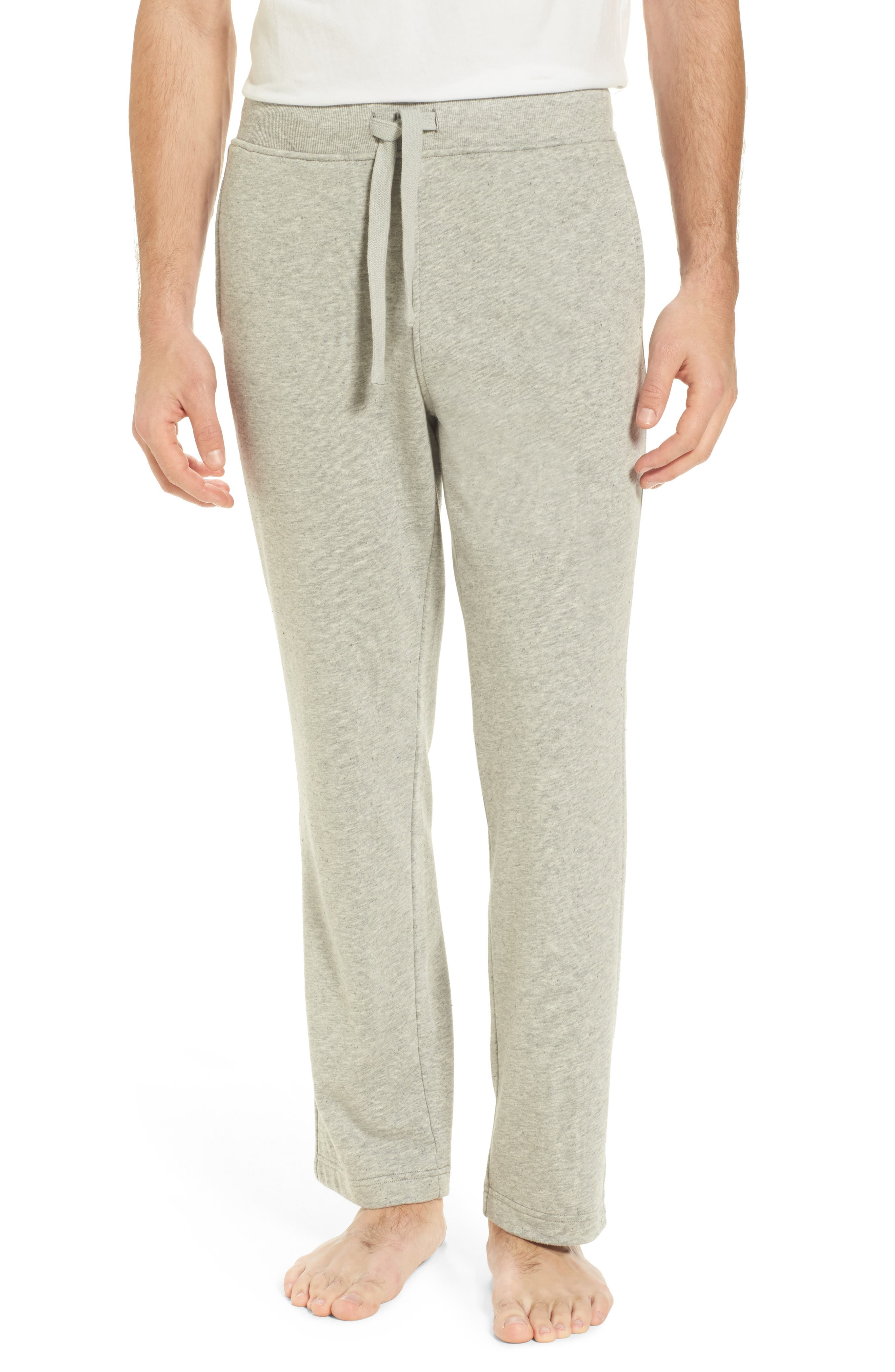 Wyatt Terry Cotton Blend Lounge Pants,                         Main,                         color, Seal