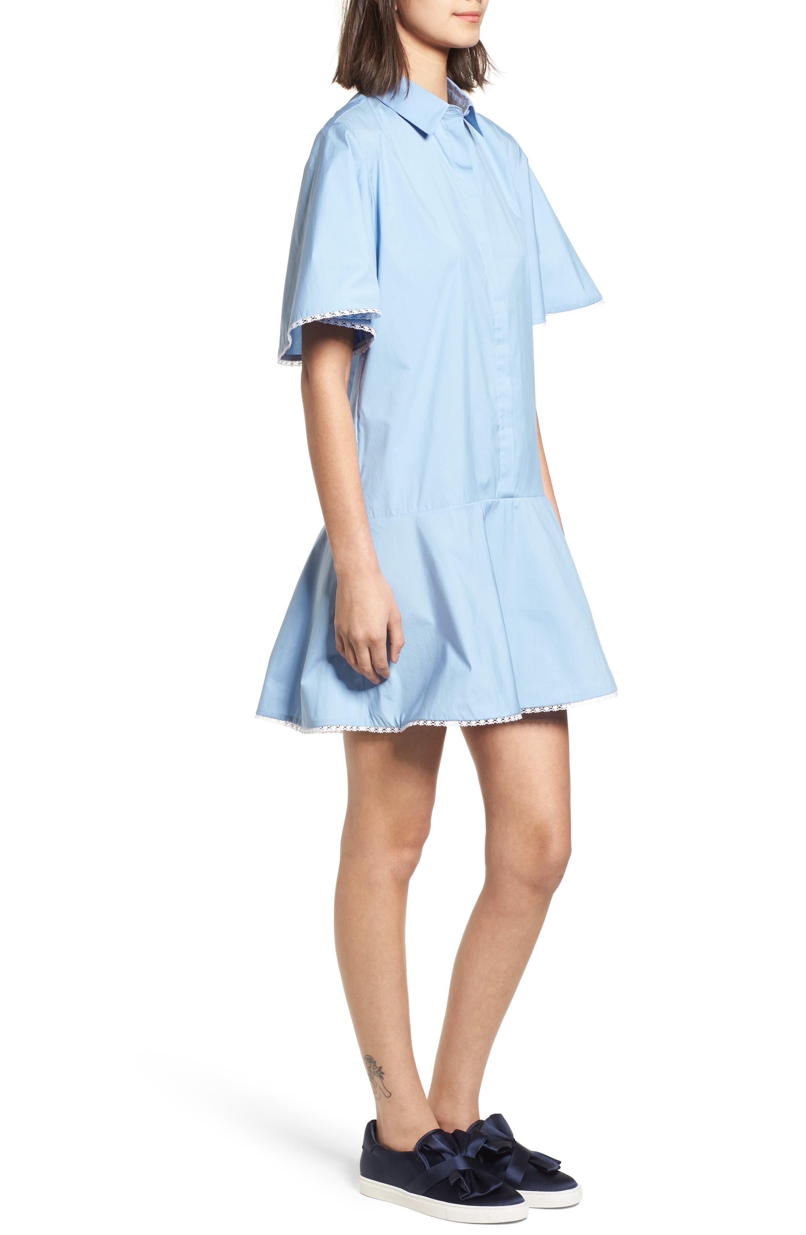 Baby Dress,                             Alternate thumbnail 3, color,                             Blue