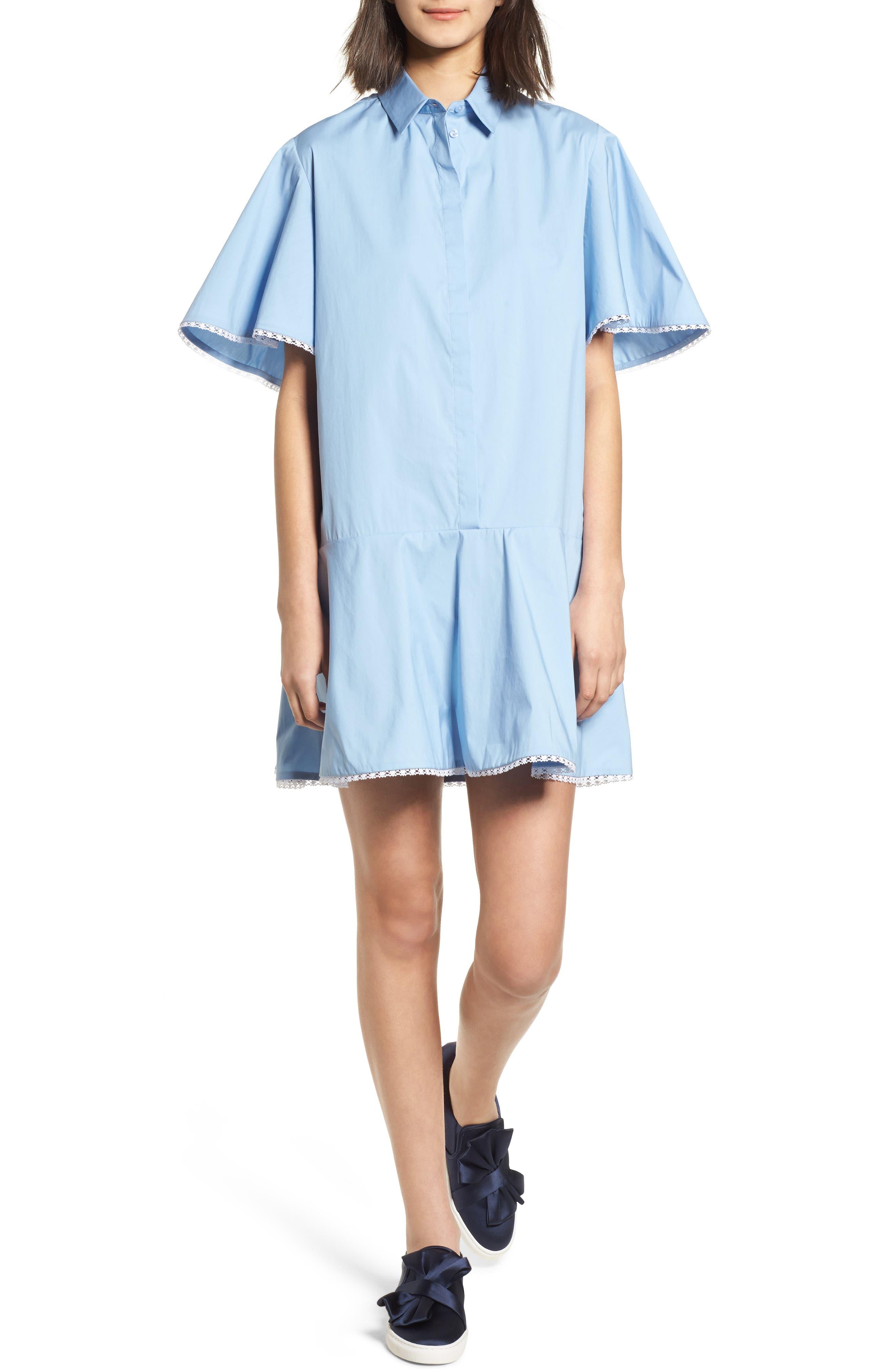 Baby Dress,                         Main,                         color, Blue