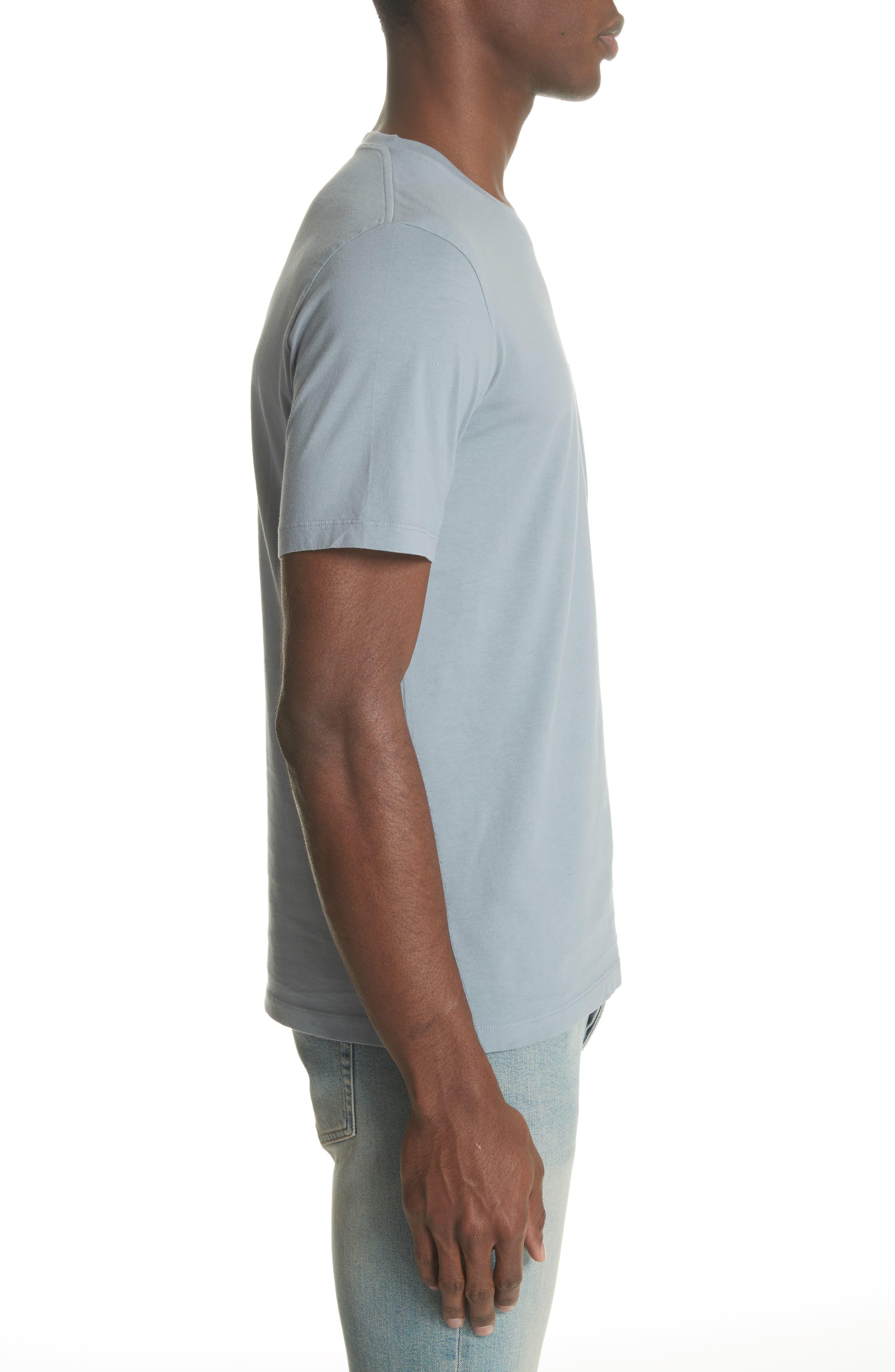 Stereotype Pocket T-Shirt,                             Alternate thumbnail 3, color,                             Grey