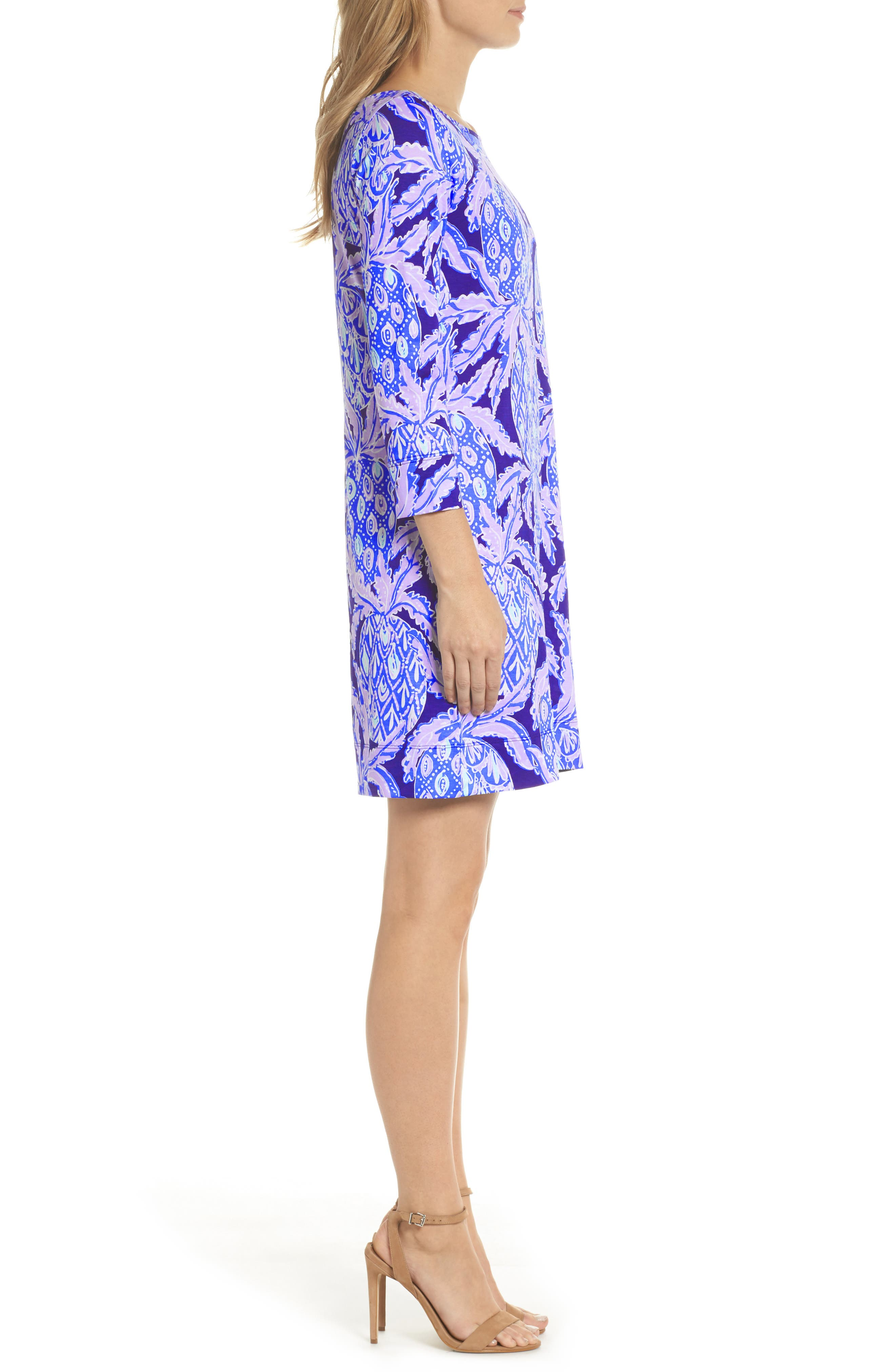 Marlowe Shift Dress,                             Alternate thumbnail 2, color,                             Lilac Verbena Coco Safari