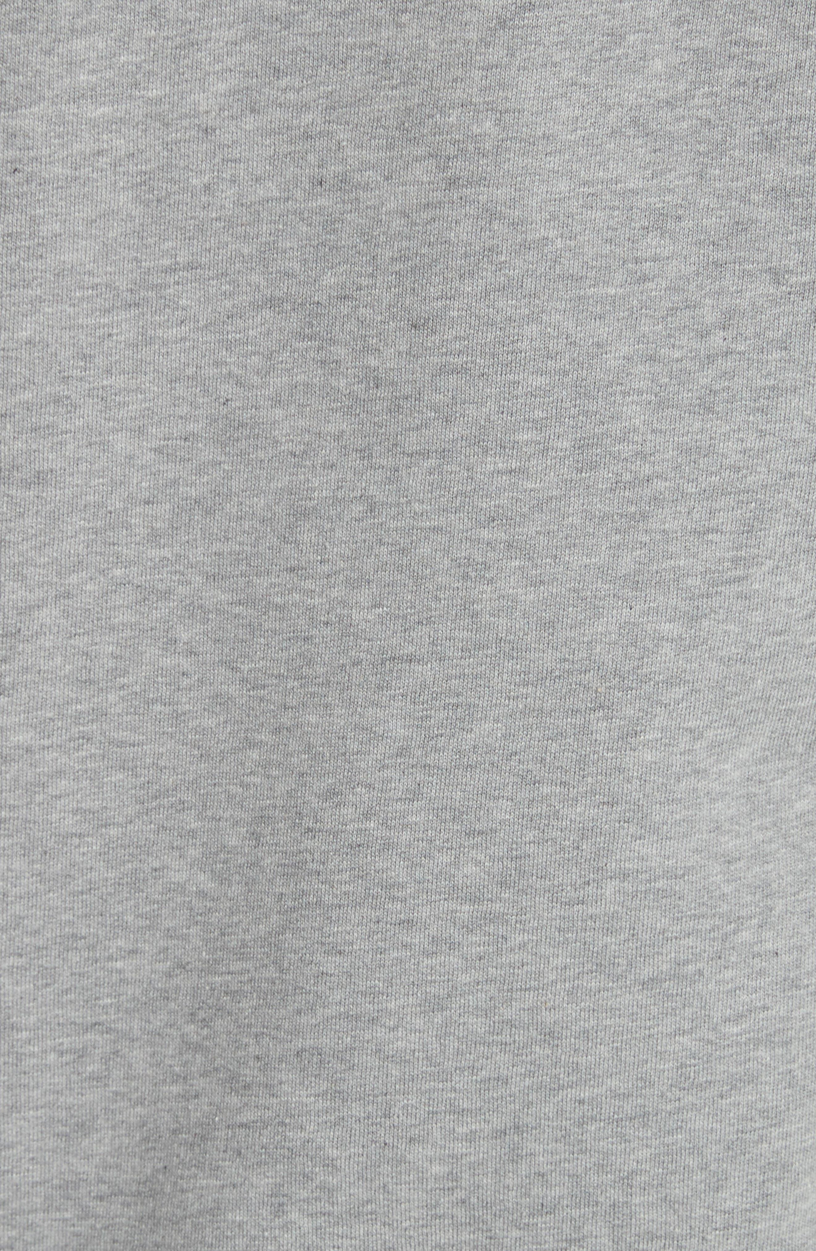 Alternate Image 5  - Burberry Kenton Regular Fit Full Zip Fleece Hoodie