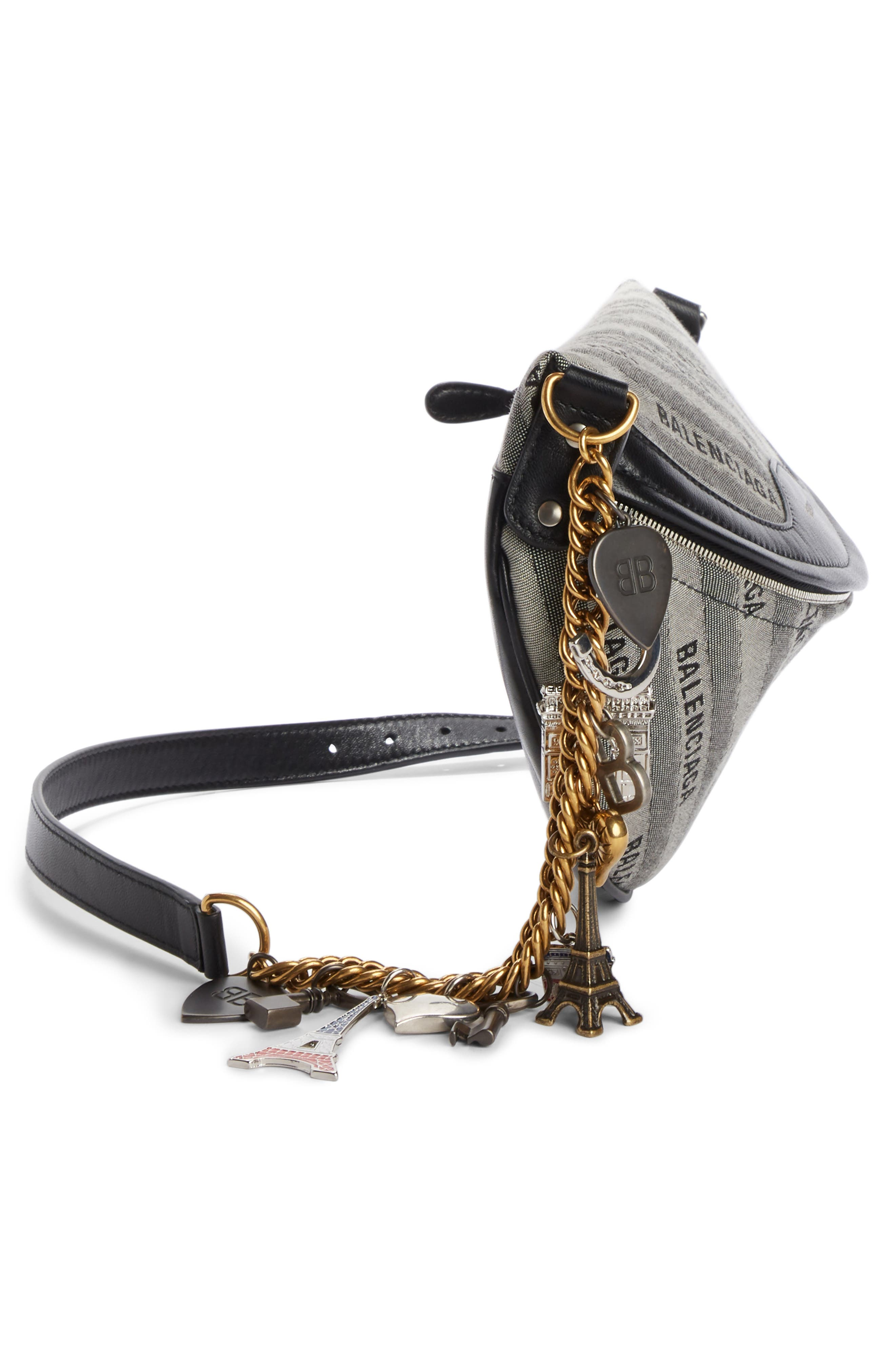 Alternate Image 3  - Balenciaga Extra Small Souvenir Logo Belt Bag
