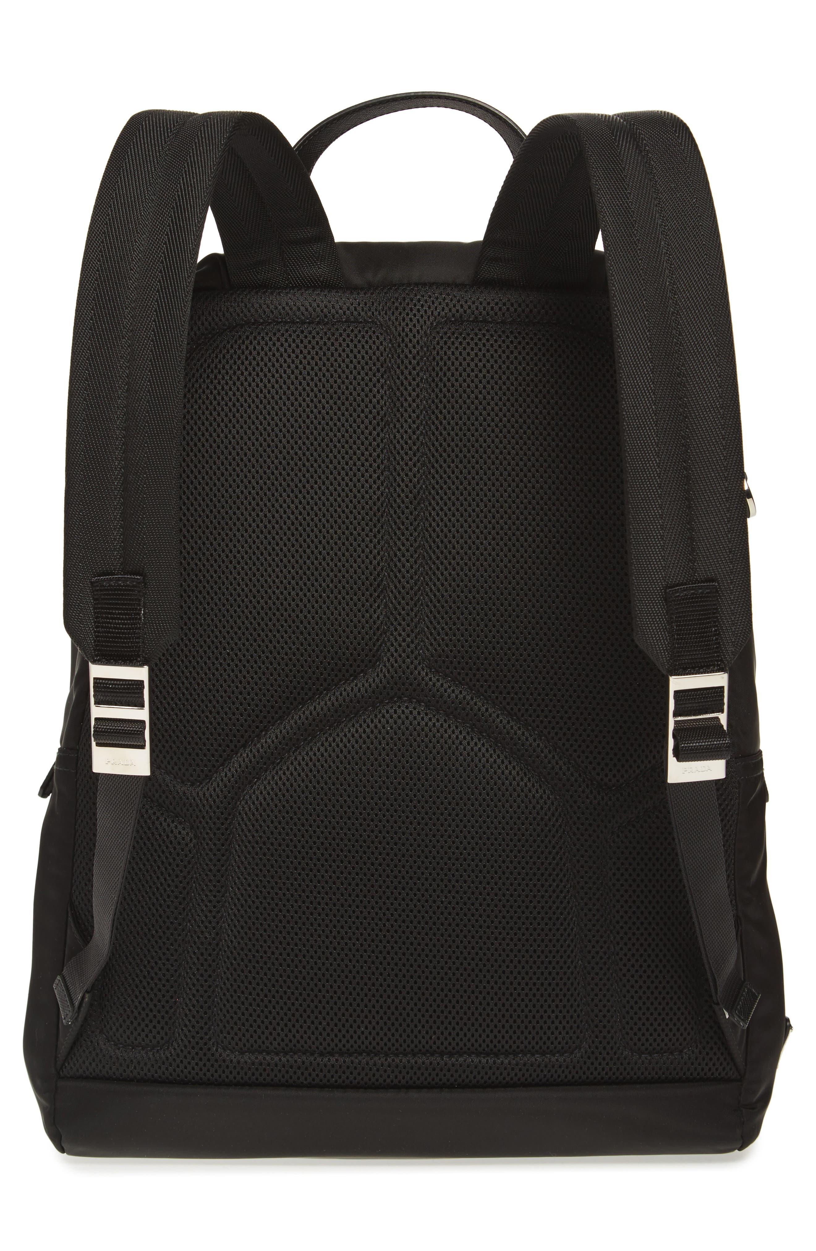 Robot Backpack,                             Alternate thumbnail 3, color,                             F0g52 Nero+Baltic