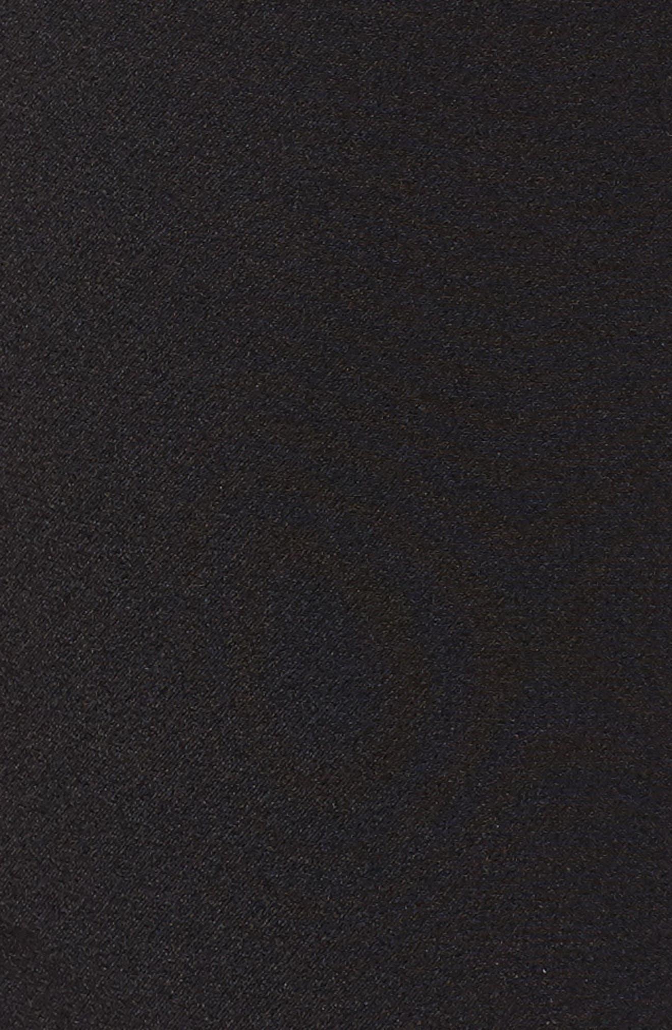 Maron Straight Leg Seamed Pants,                             Alternate thumbnail 6, color,                             Black
