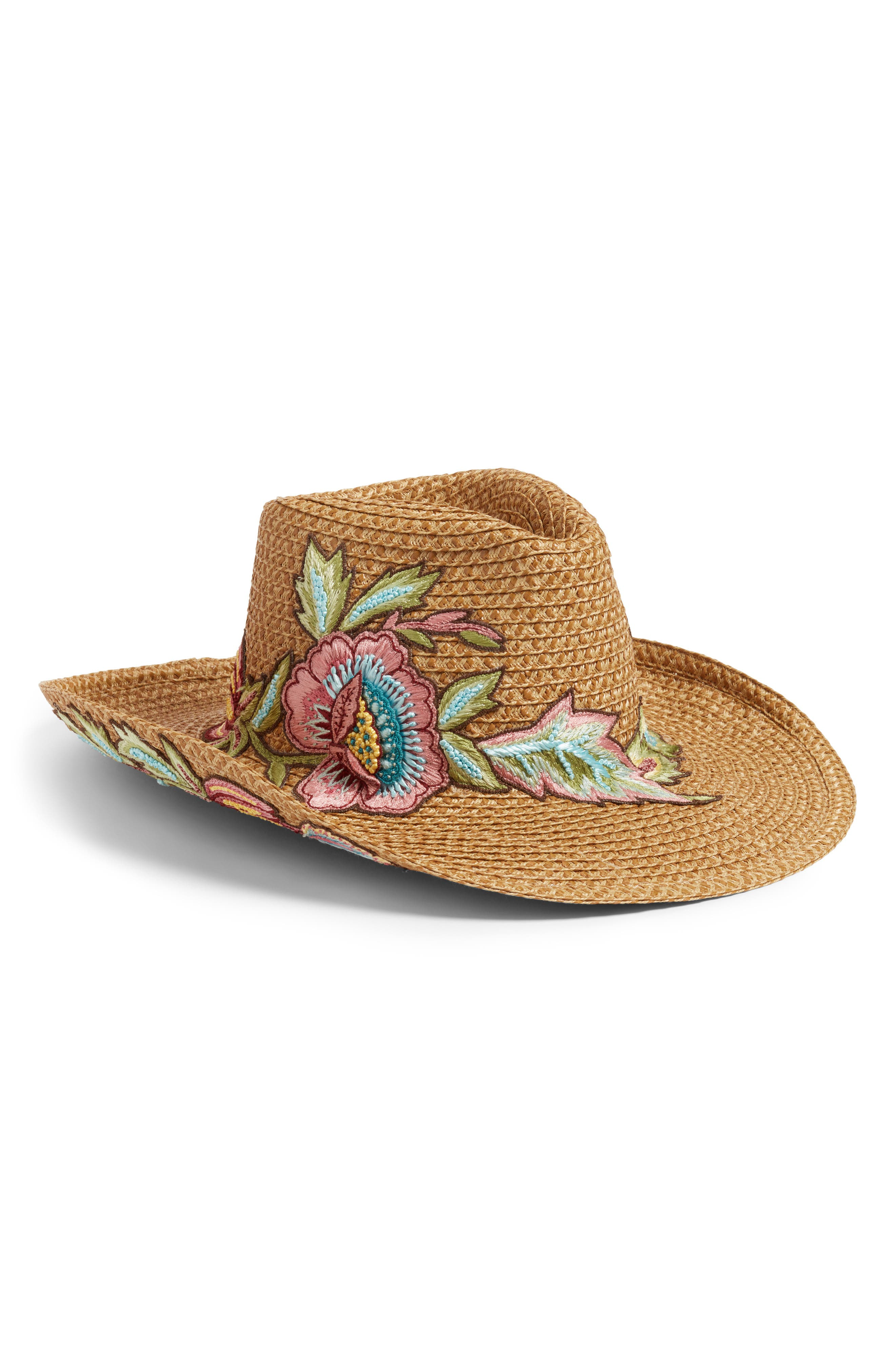 Eden Squishee<sup>®</sup> Western Hat,                         Main,                         color, Natural Mix