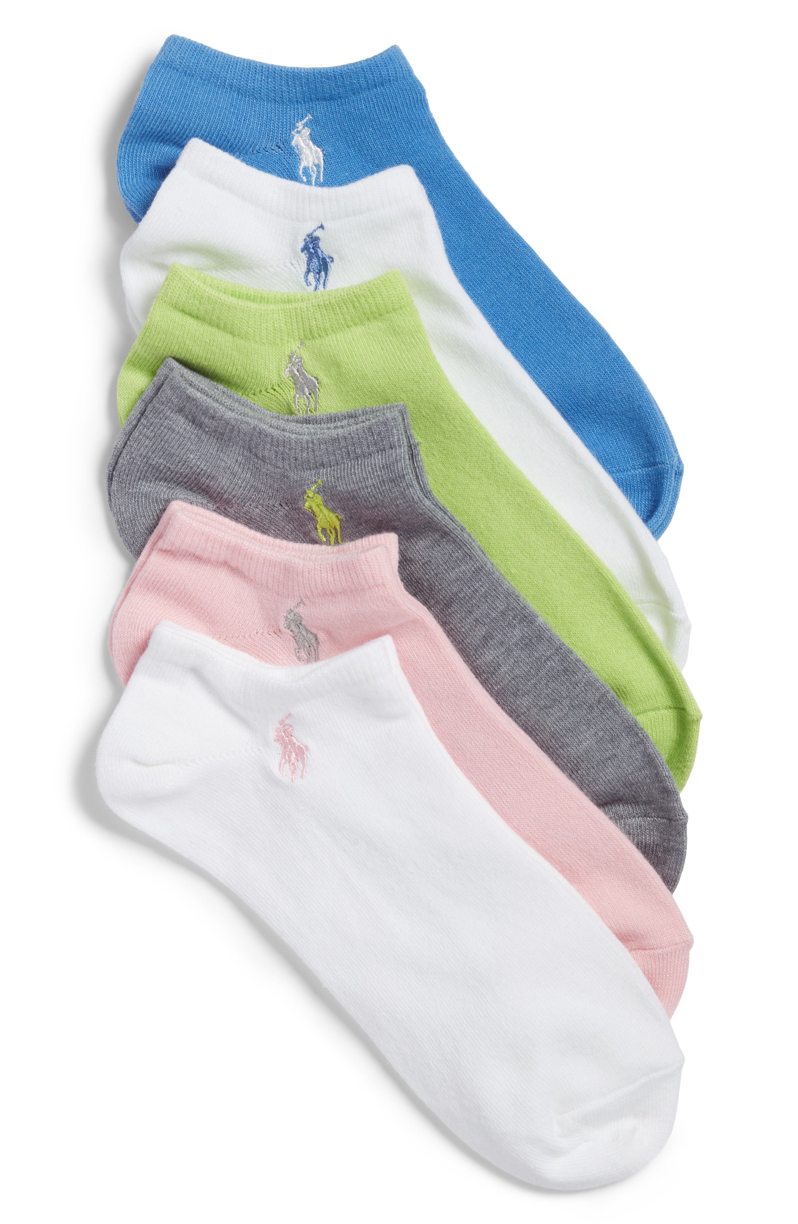 Ralph Lauren 6-Pack Ankle Socks