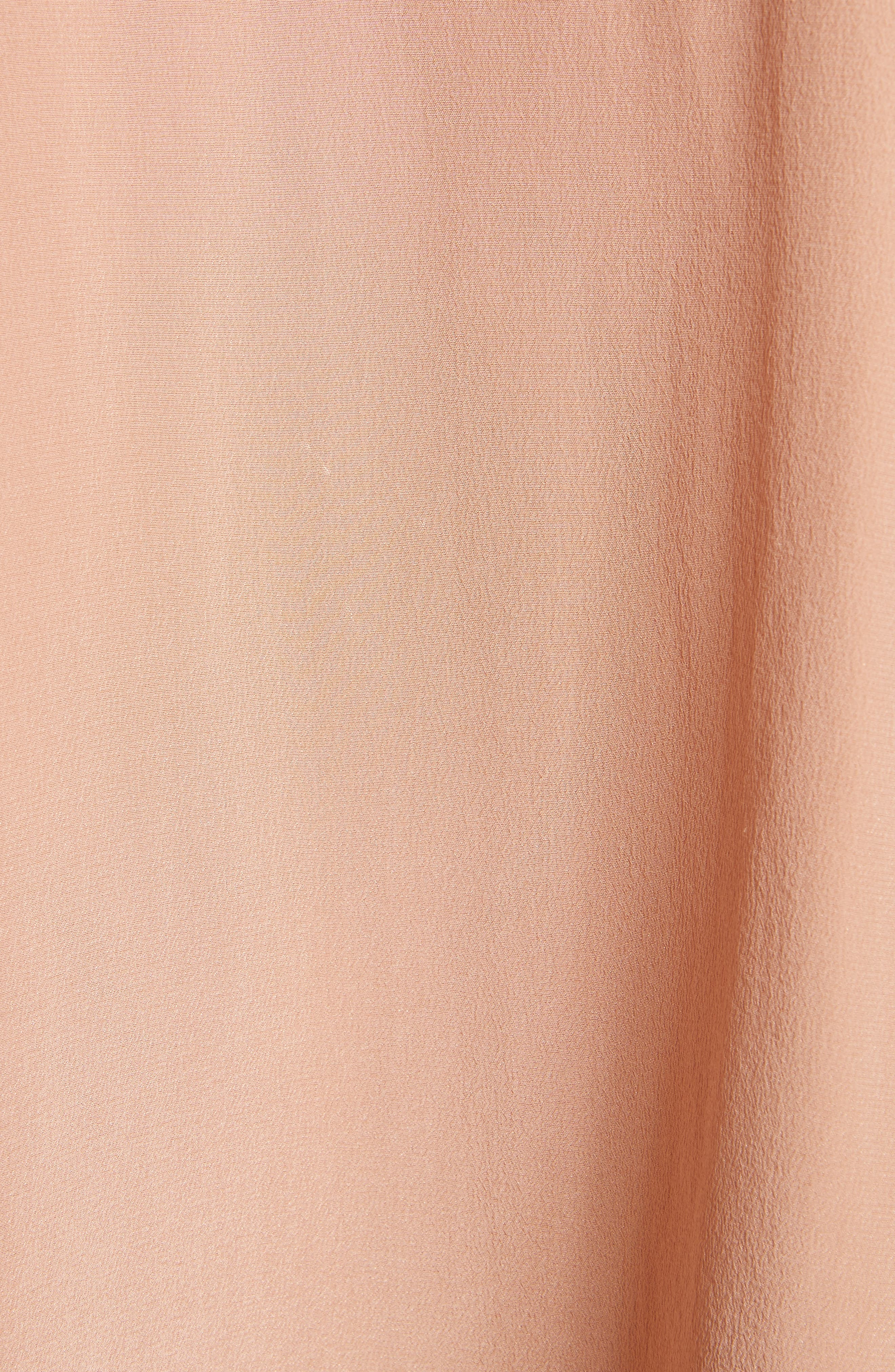 Alternate Image 5  - Vince Tie Cuff Silk Blouse
