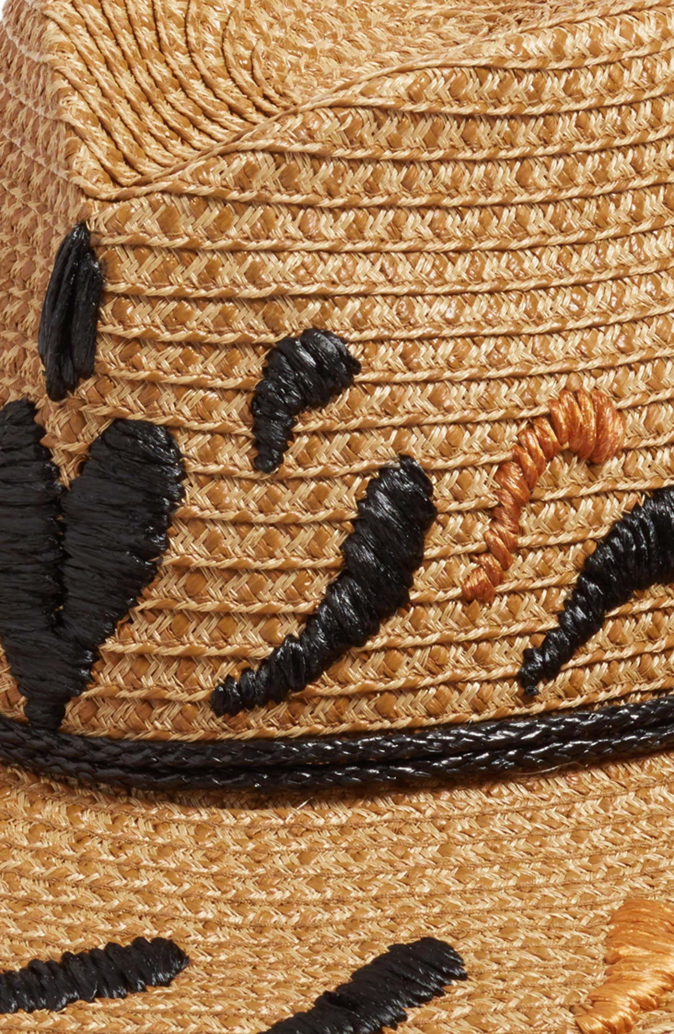 Corsica Squishee<sup>®</sup> Western Hat,                             Alternate thumbnail 3, color,                             Natural/ Black