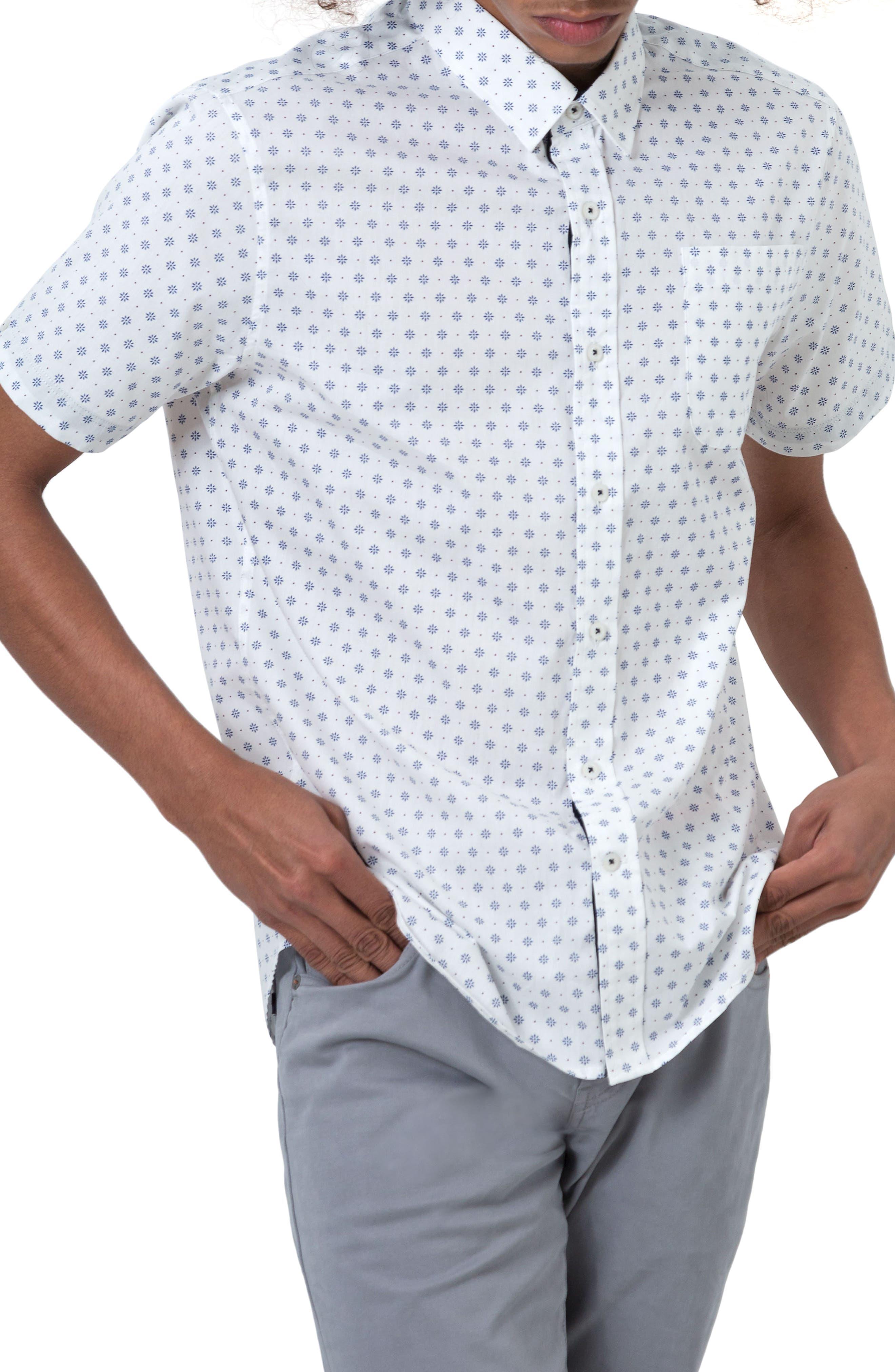 7 Diamonds Overflow Woven Shirt