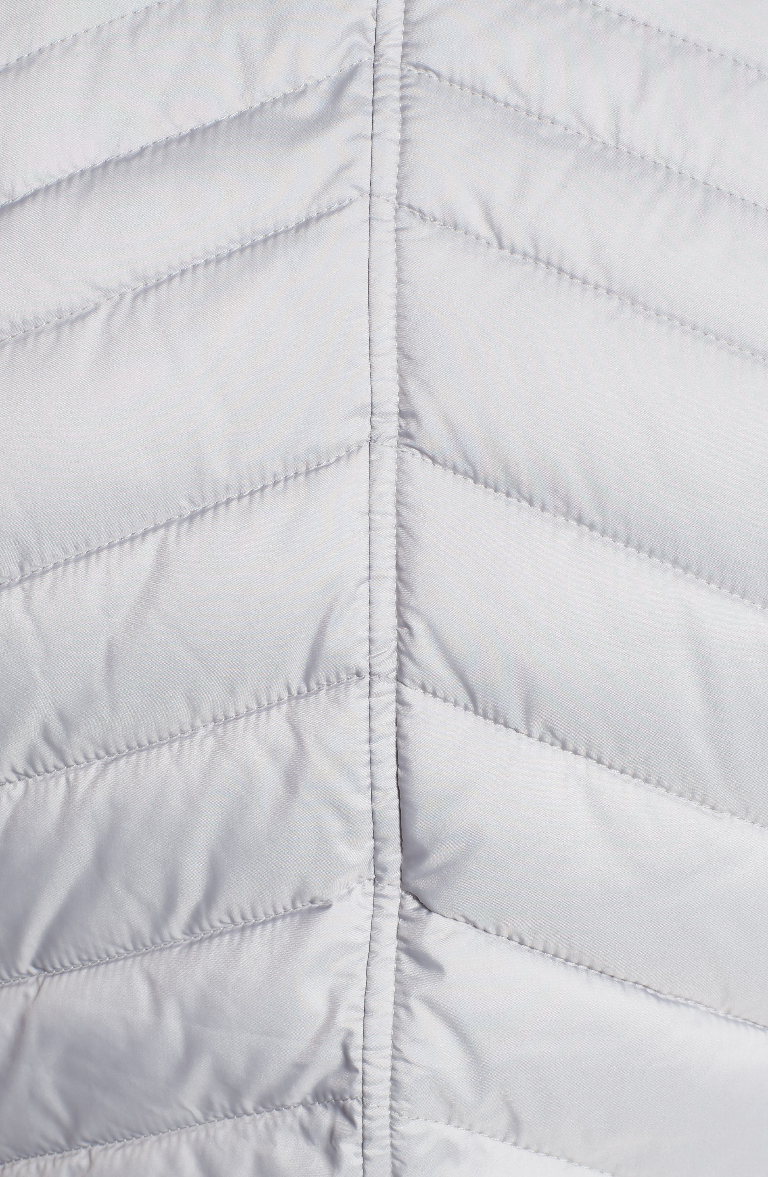 Pembrey Sweatshirt Jacket,                             Alternate thumbnail 5, color,                             Ice White
