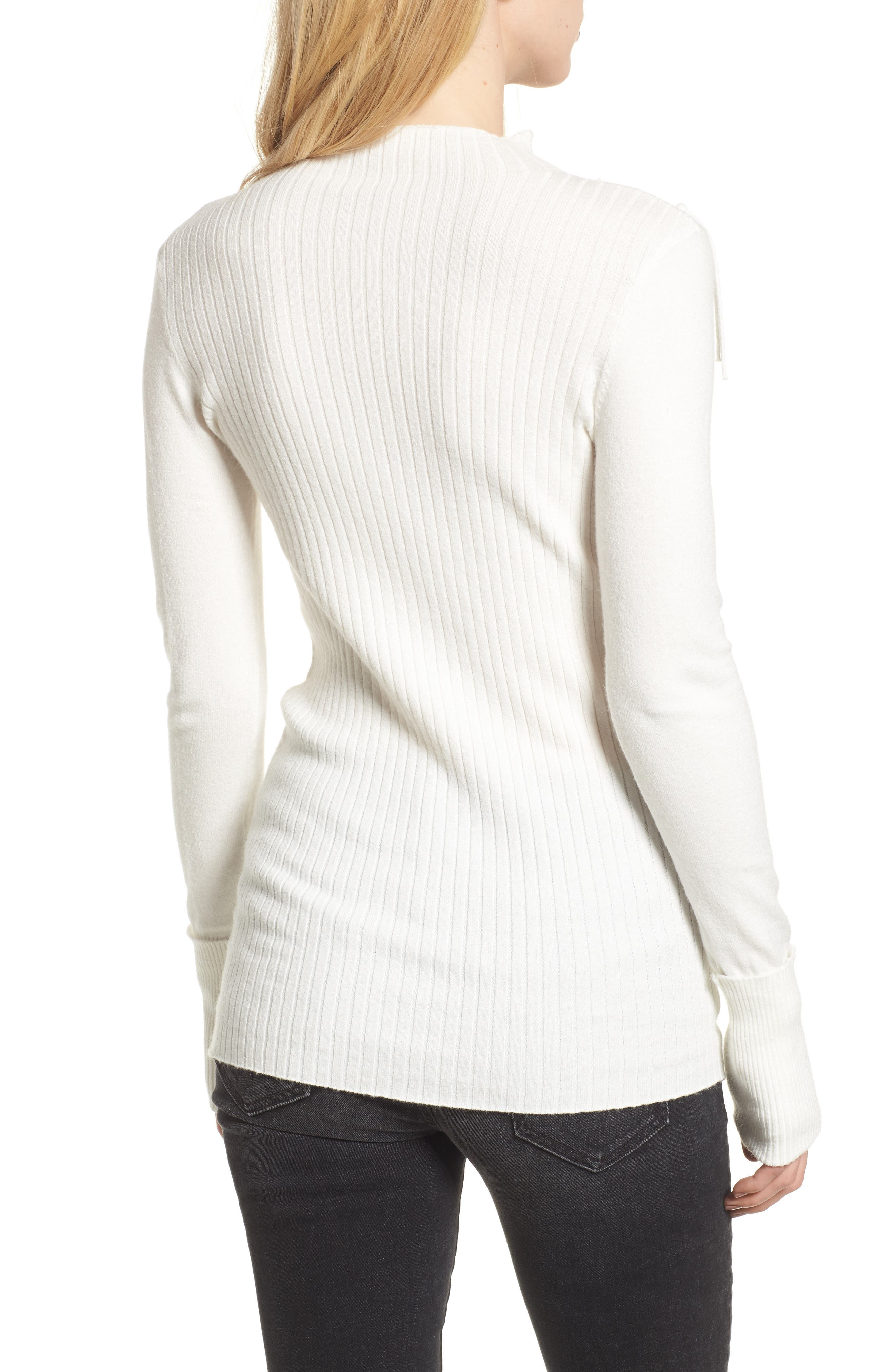 Alternate Image 2  - Bishop + Young Fringe Sweater