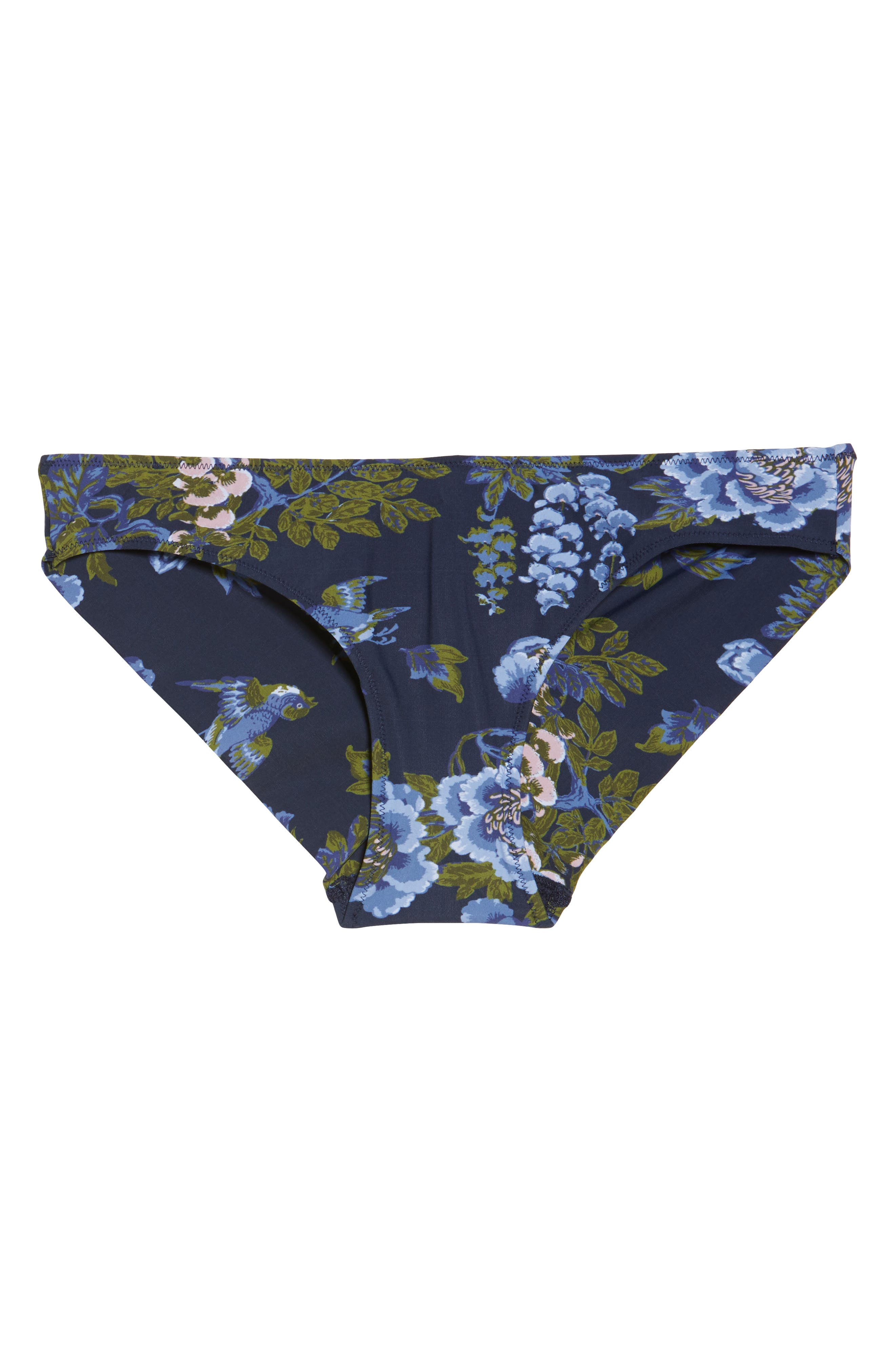 Zahra Brazilian Panties,                             Alternate thumbnail 4, color,                             Big Flower Print